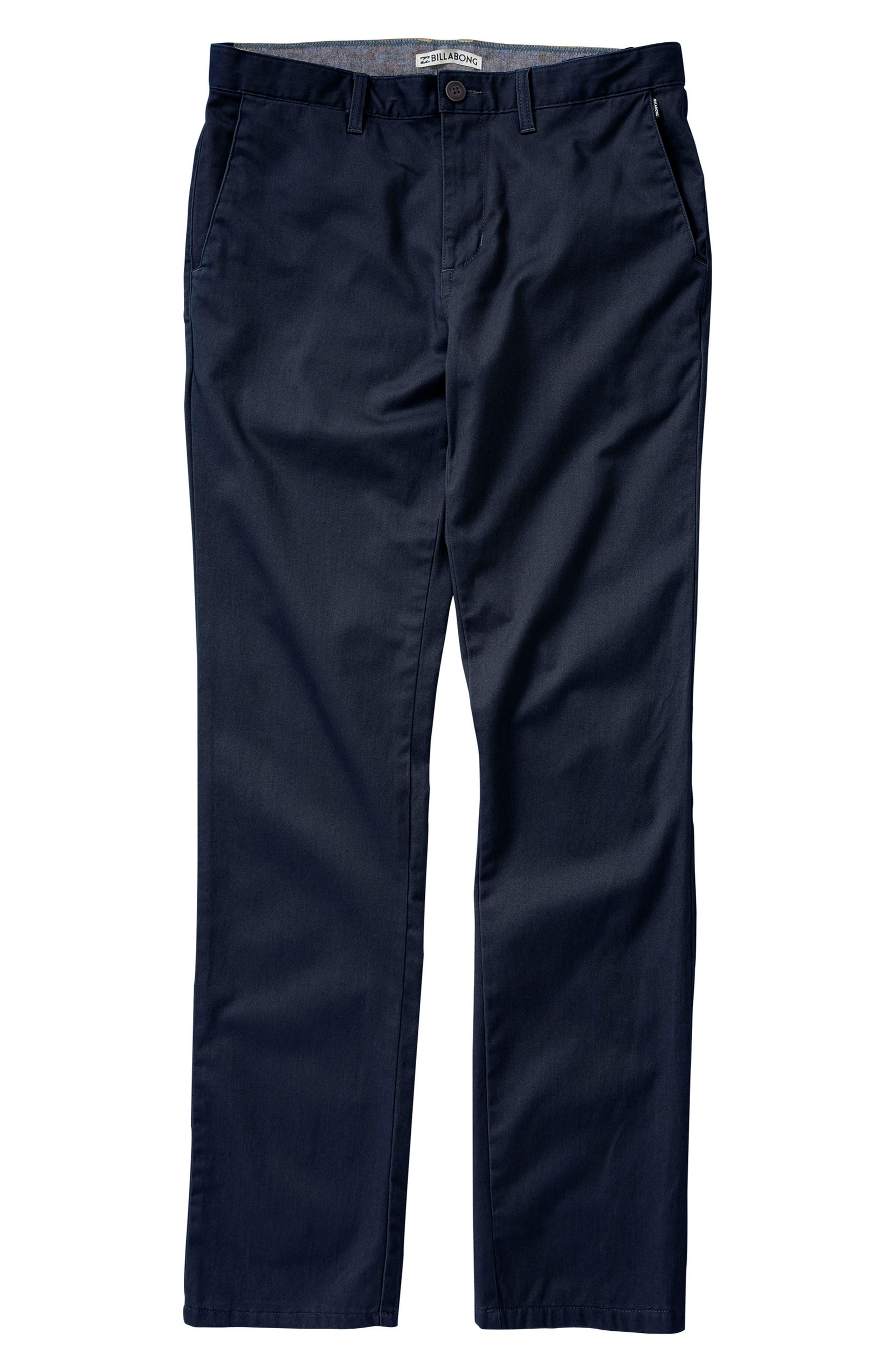 Carter Stretch Twill Chinos,                         Main,                         color, Navy