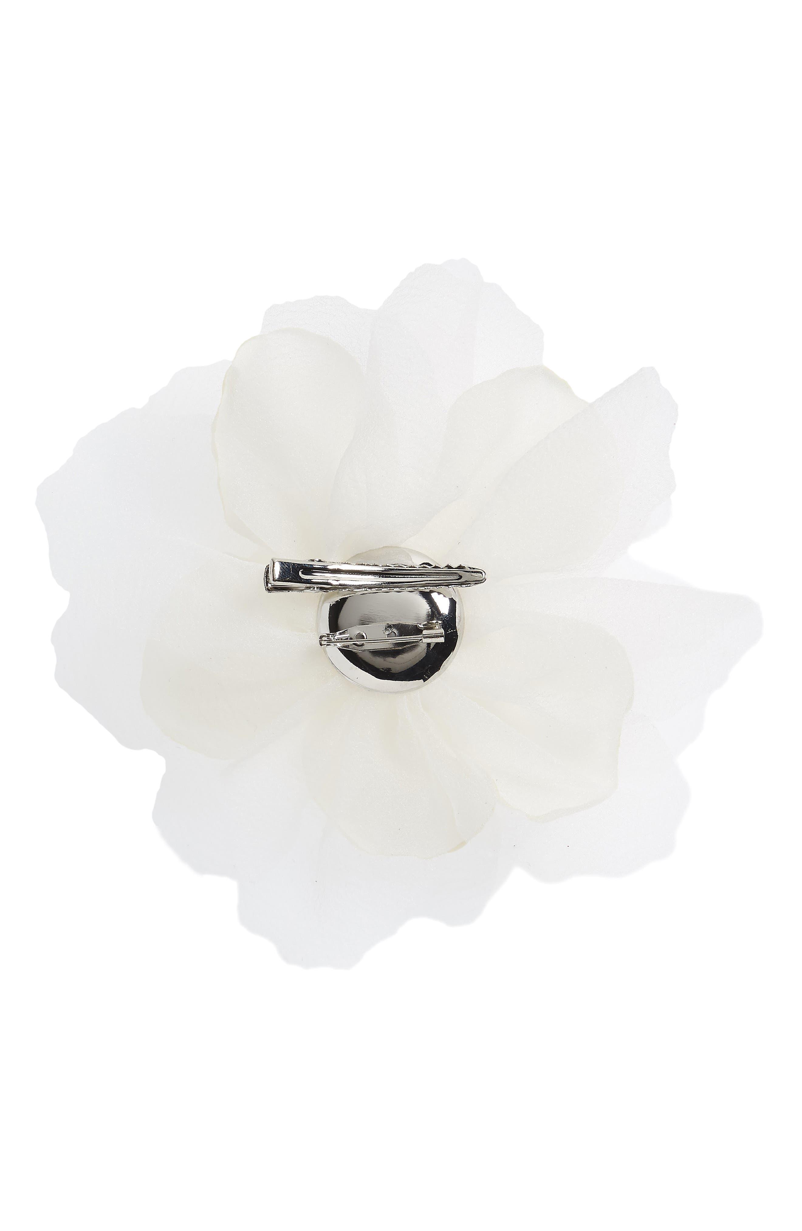 Alternate Image 2  - Cara Flower Pin