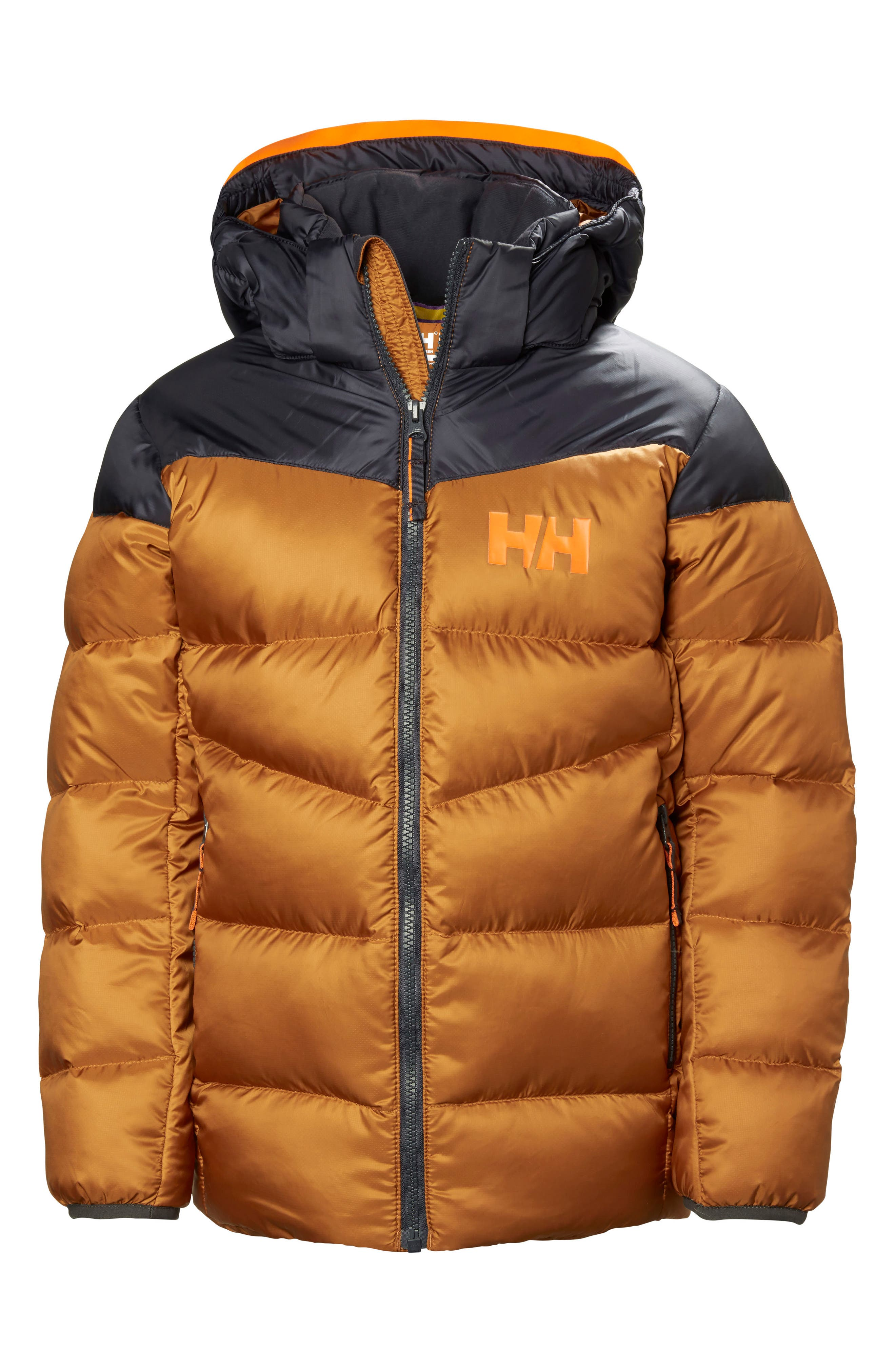 Fjord Water Resistant Puffer Jacket,                         Main,                         color, Cinnamon