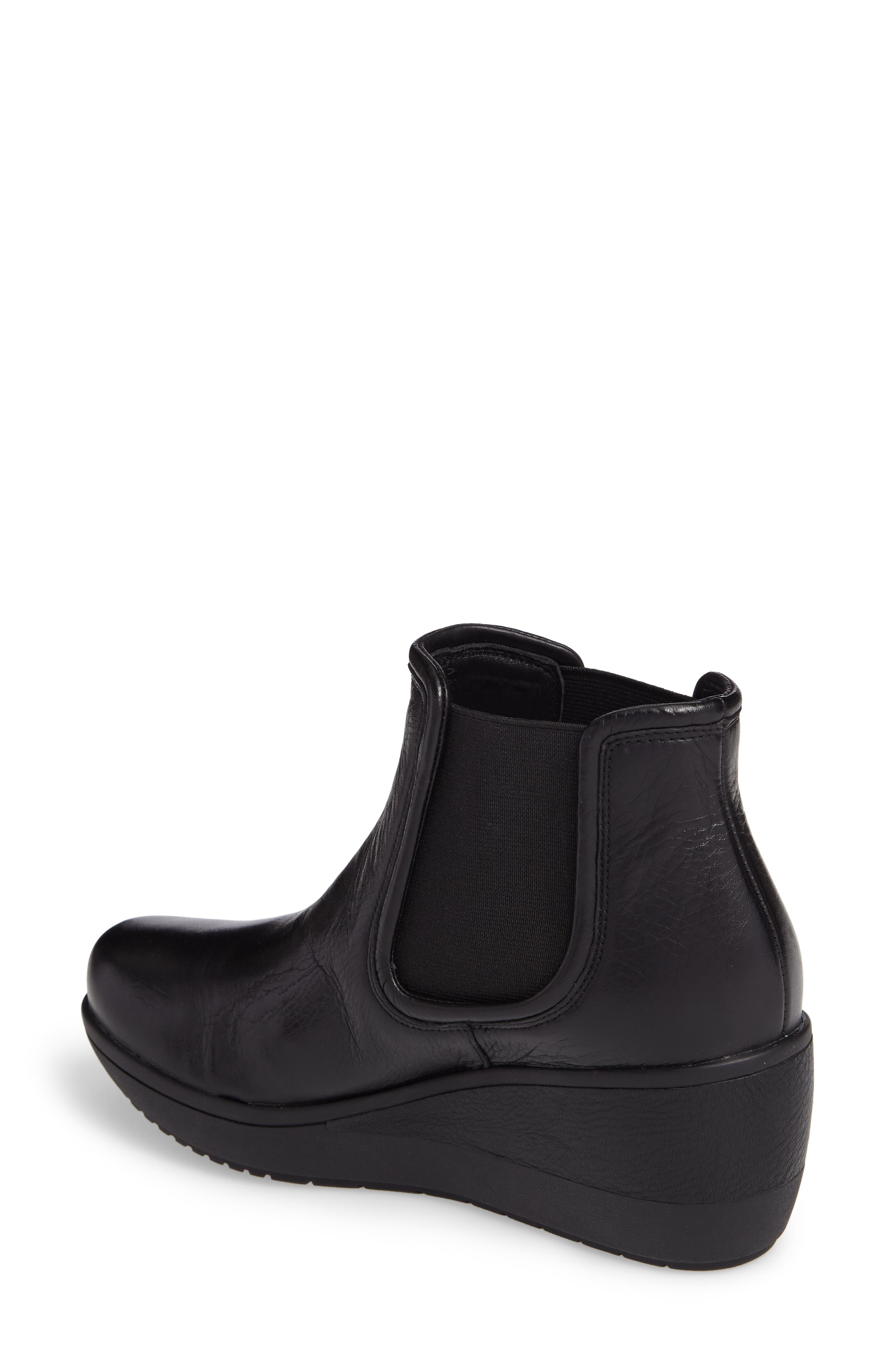 Wynnmere Mara Boot,                             Alternate thumbnail 2, color,                             Black Leather