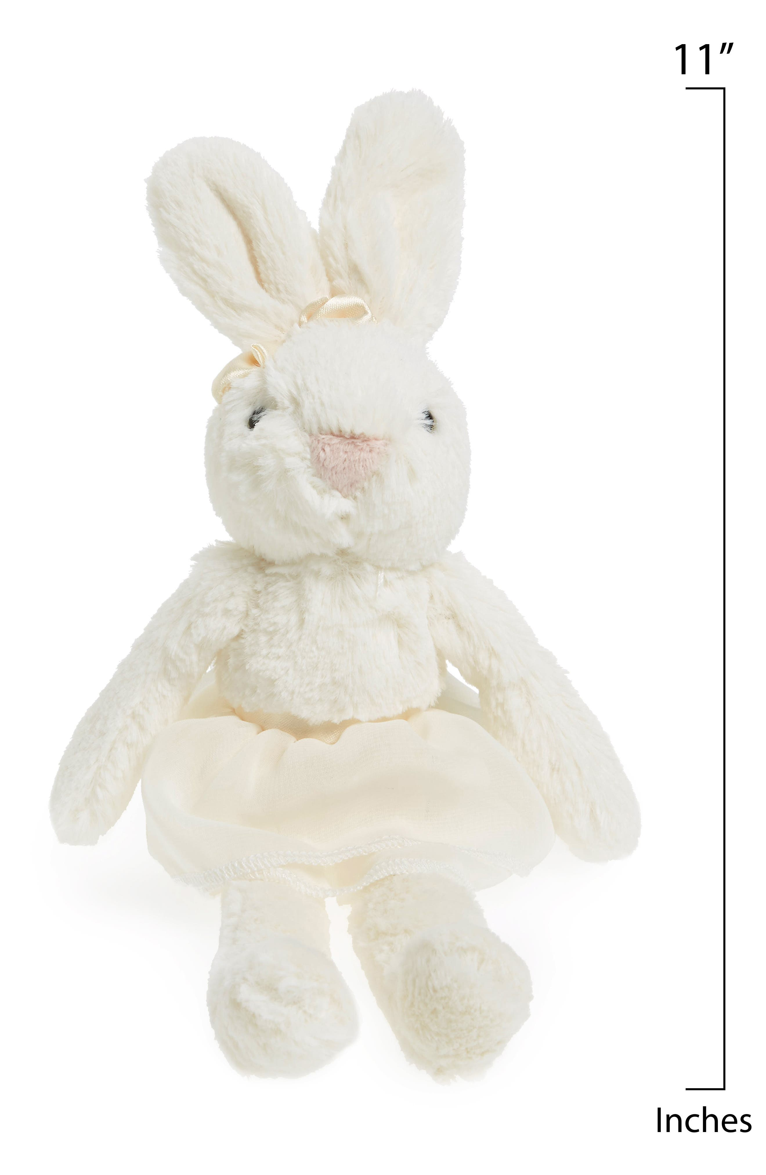 'Plum Bunny' Stuffed Animal,                             Alternate thumbnail 2, color,                             Cream