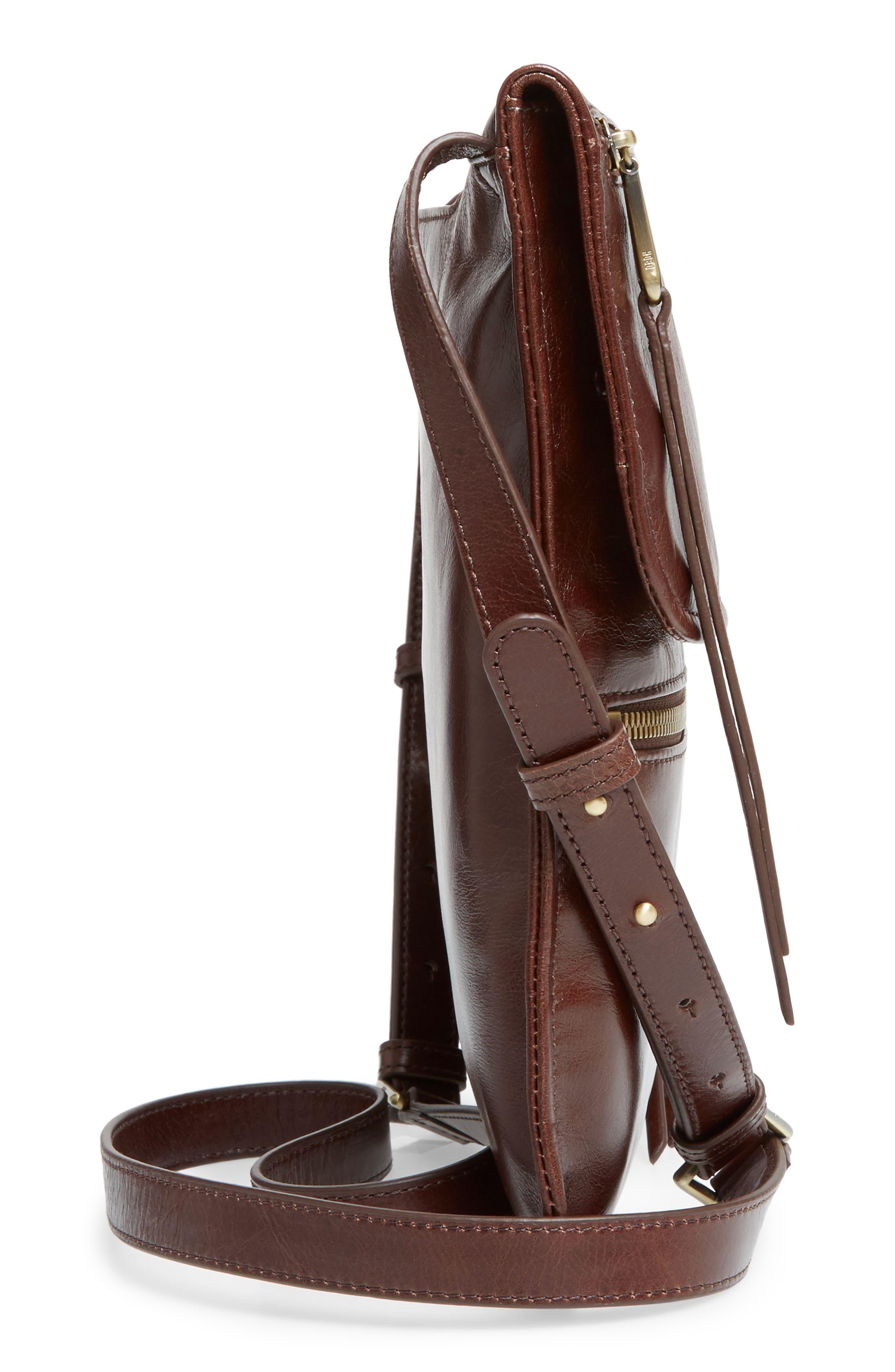 Alternate Image 4  - Hobo Vista Calfskin Leather Messenger Bag