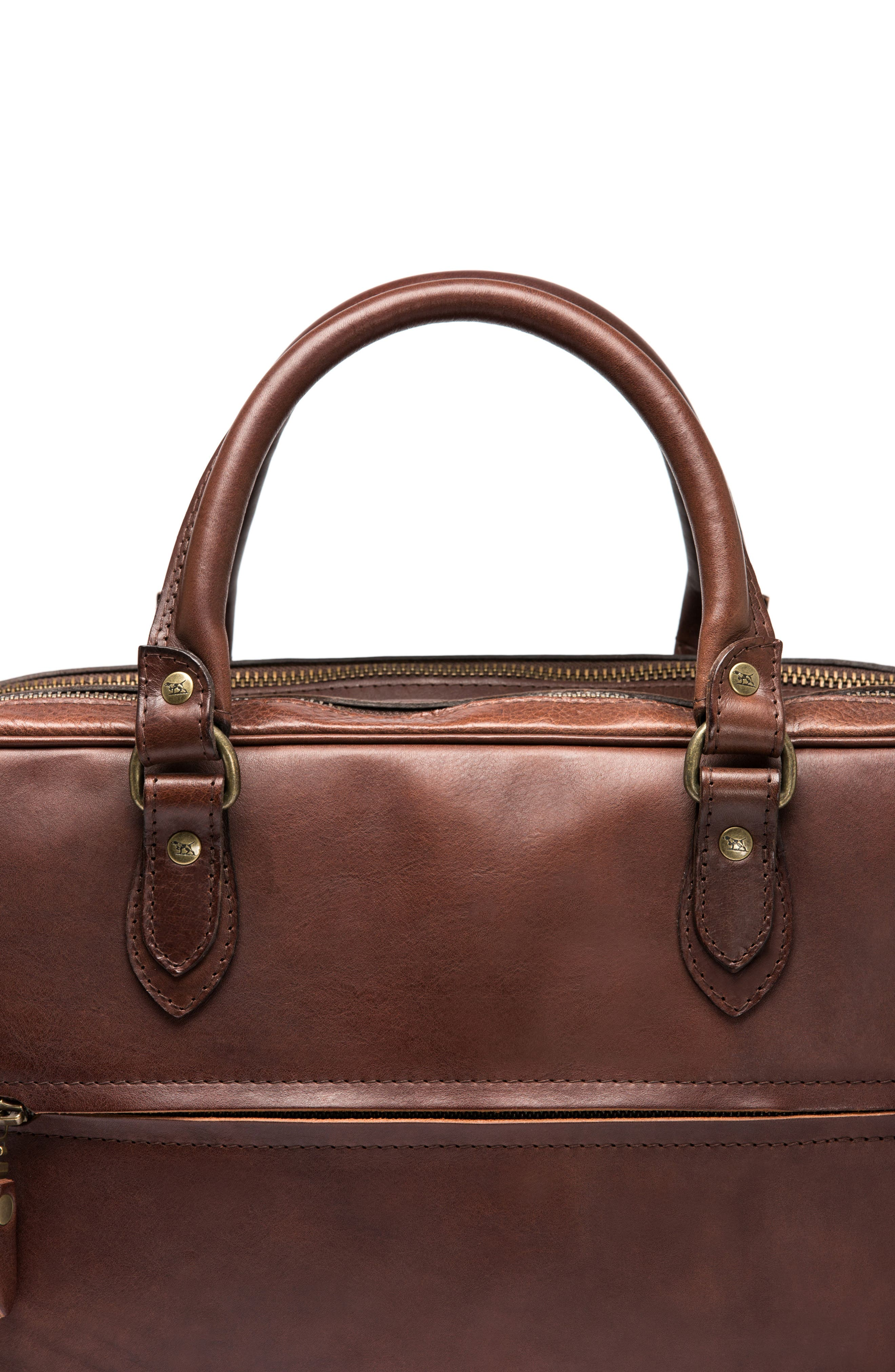 Britomart Leather Briefcase,                             Alternate thumbnail 8, color,                             Mud