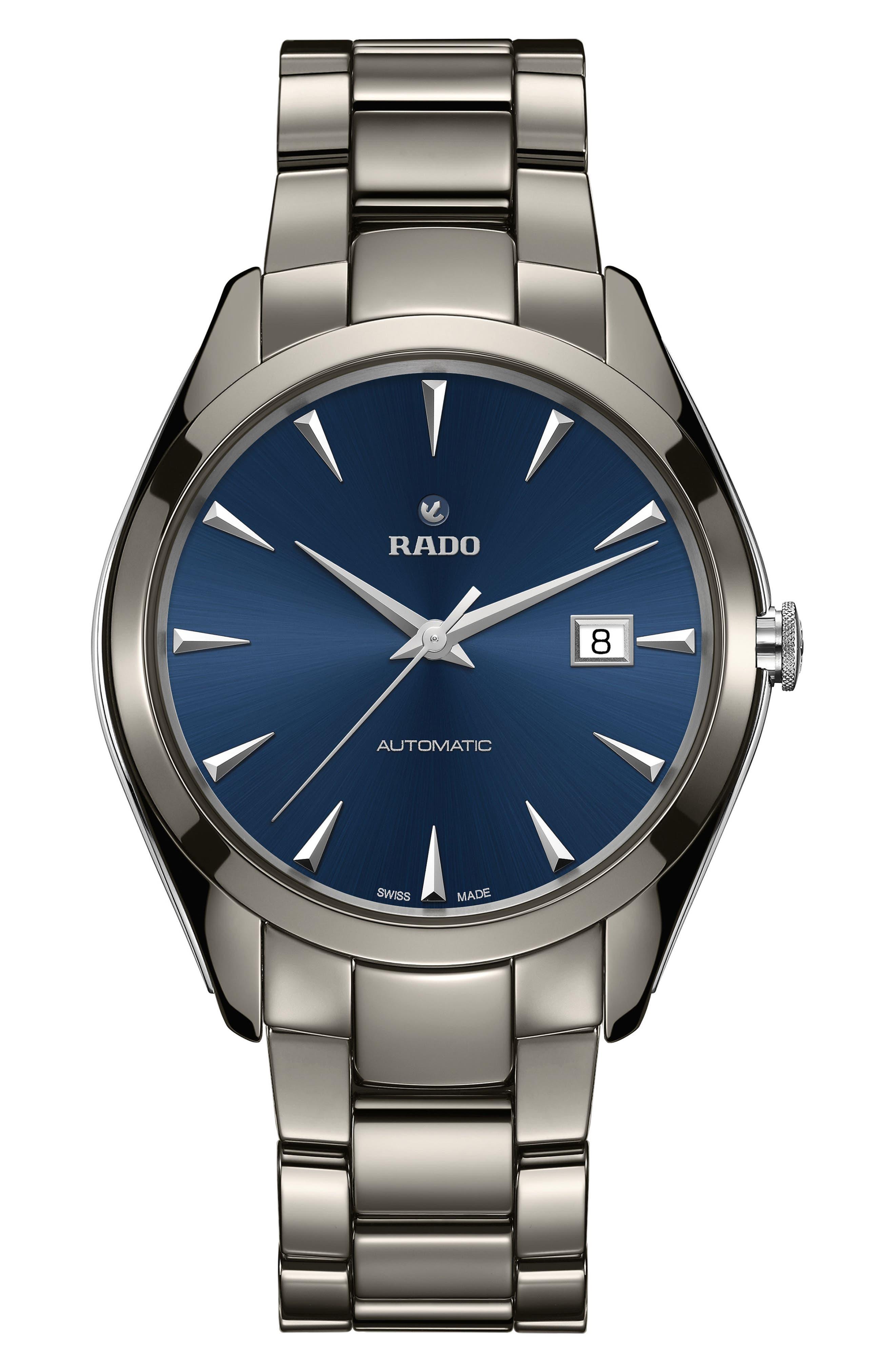 RADO HyperChrome Ceramic Bracelet Watch, 42mm