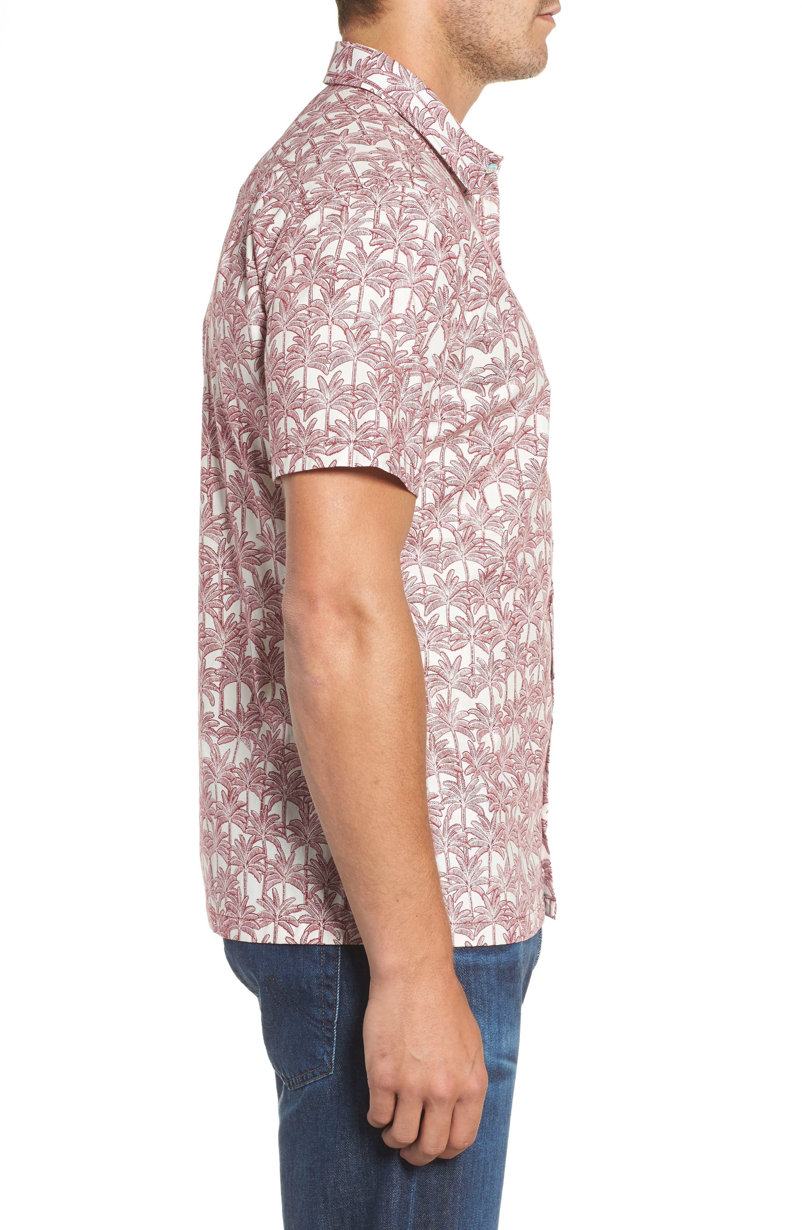 Alternate Image 3  - Tori Richard La Palma Regular Fit Print Sport Shirt