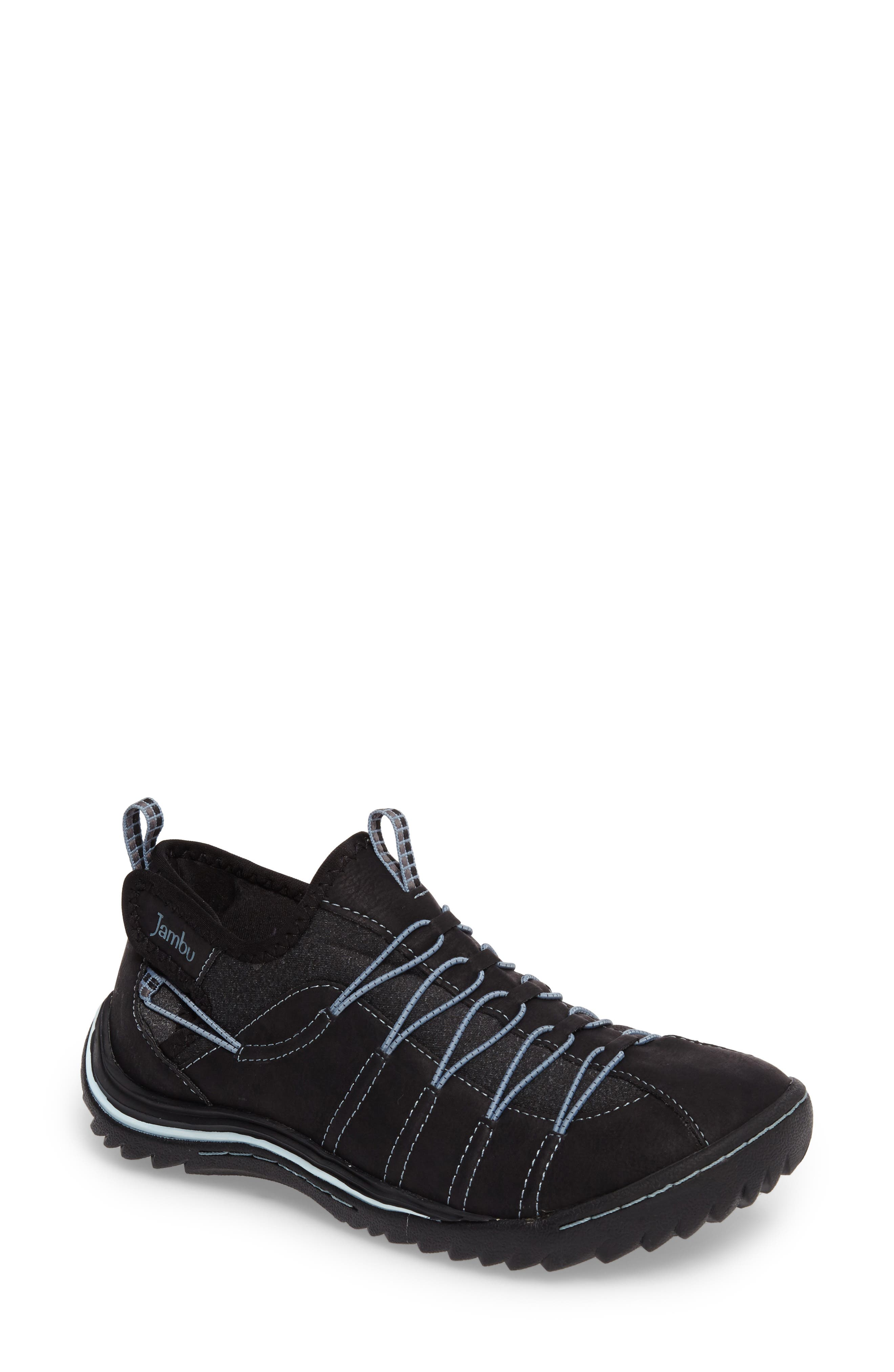 Spirit Sneaker,                         Main,                         color, Black/ Blue Smoke Leather