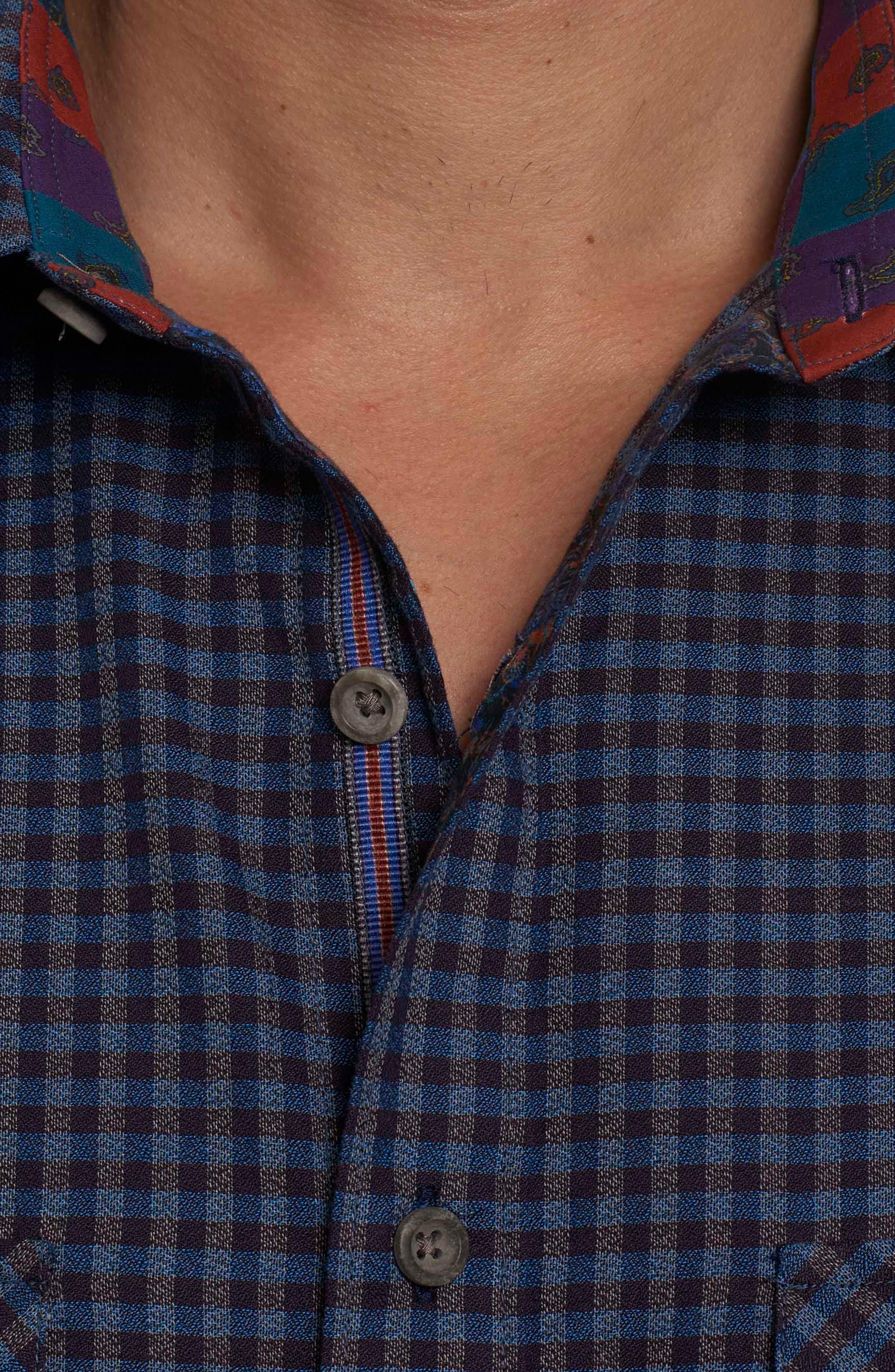 Alternate Image 4  - Robert Graham Newcomb Classic Fit Sport Shirt