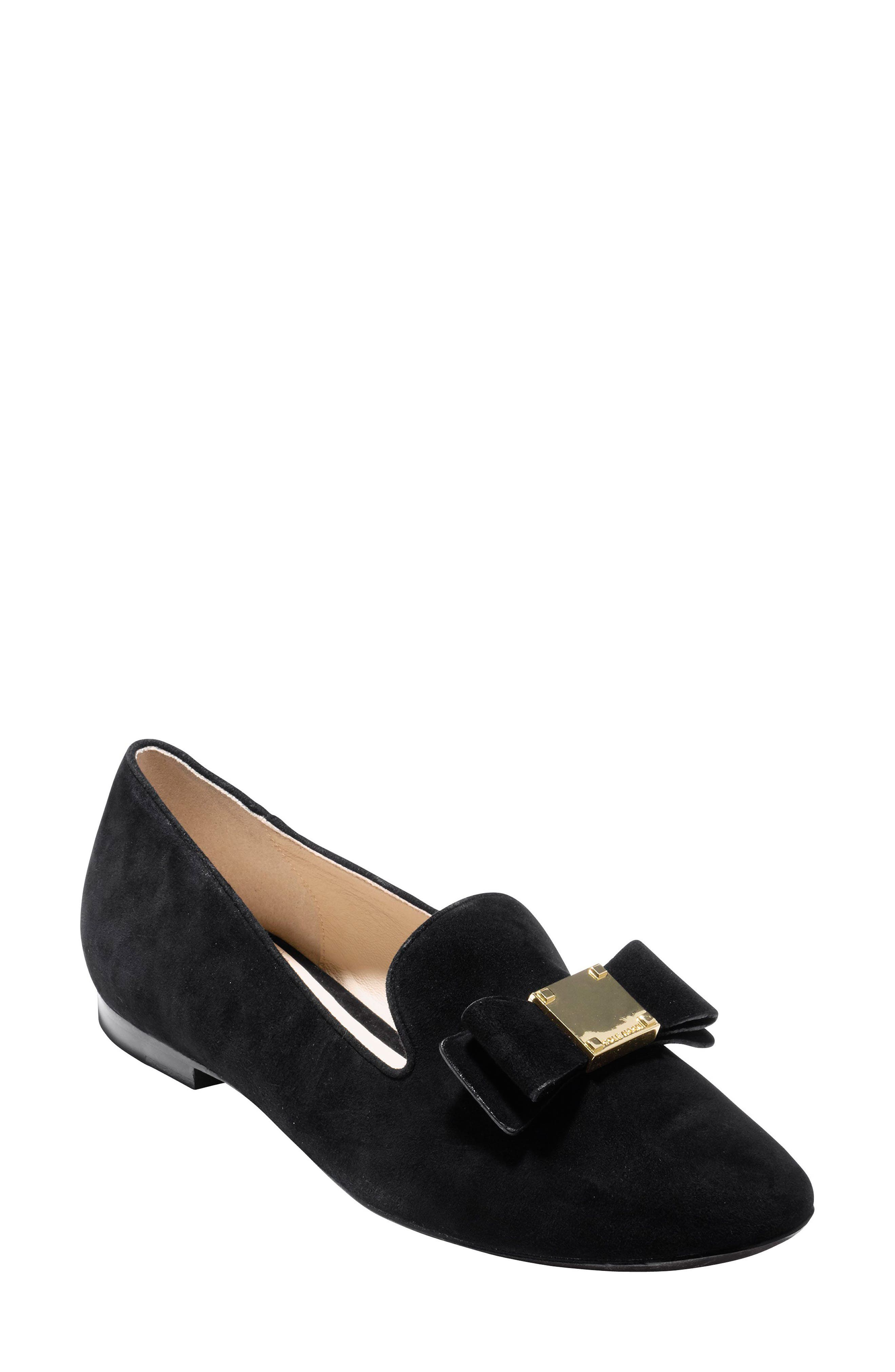 Alternate Image 1 Selected - Cole Haan Tali Bow Loafer (Women)