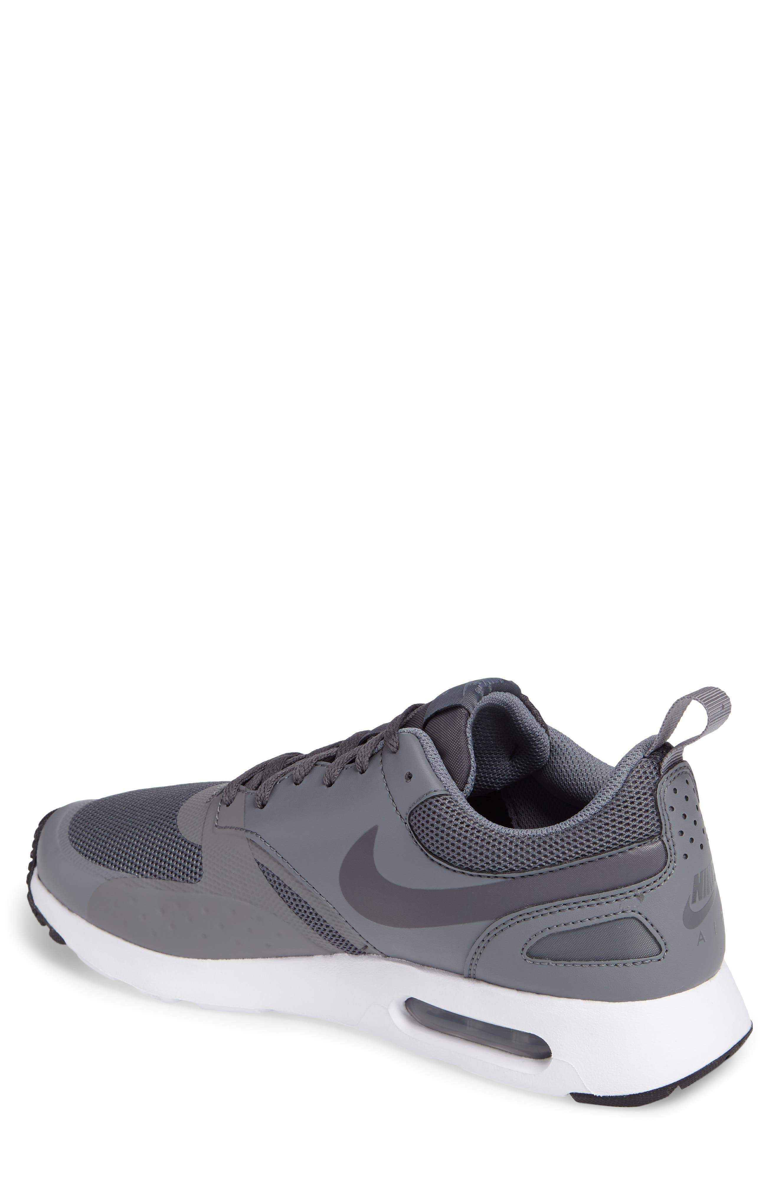 Air Max Vision Sneaker,                             Alternate thumbnail 2, color,                             Cool Grey/ Dark Grey/ White