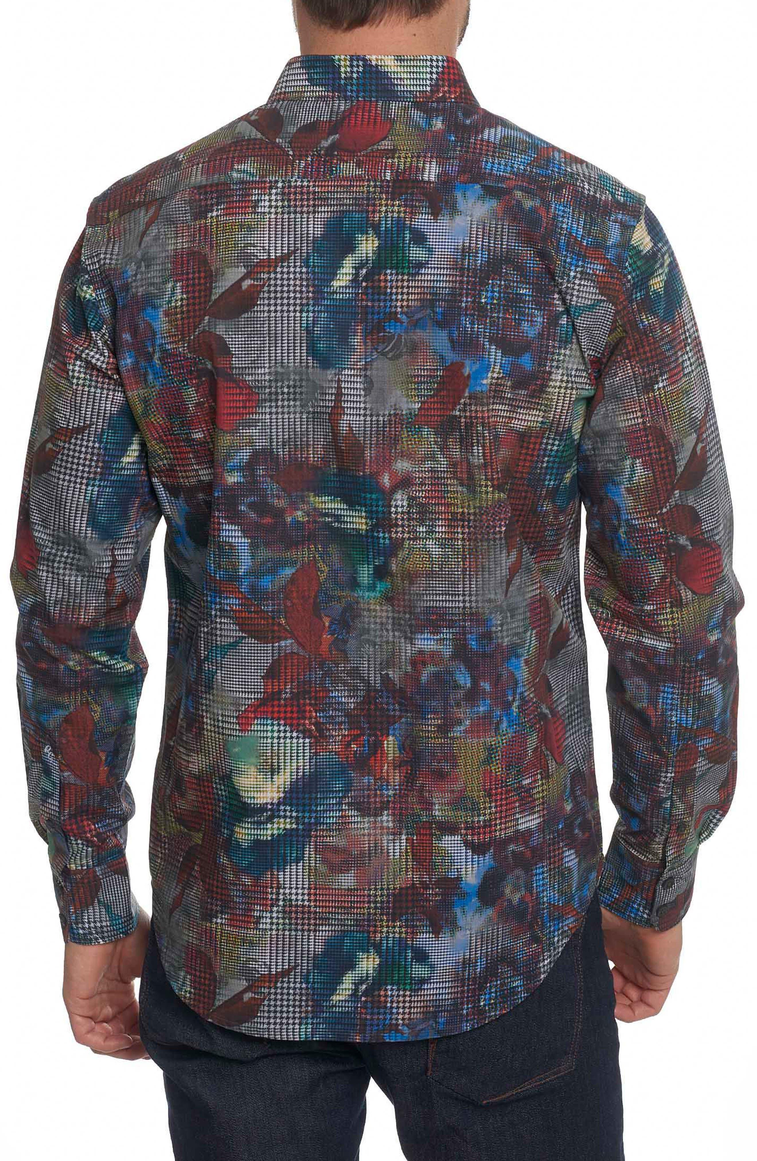 Alternate Image 2  - Robert Graham Big Nova Classic Fit Print Sport Shirt