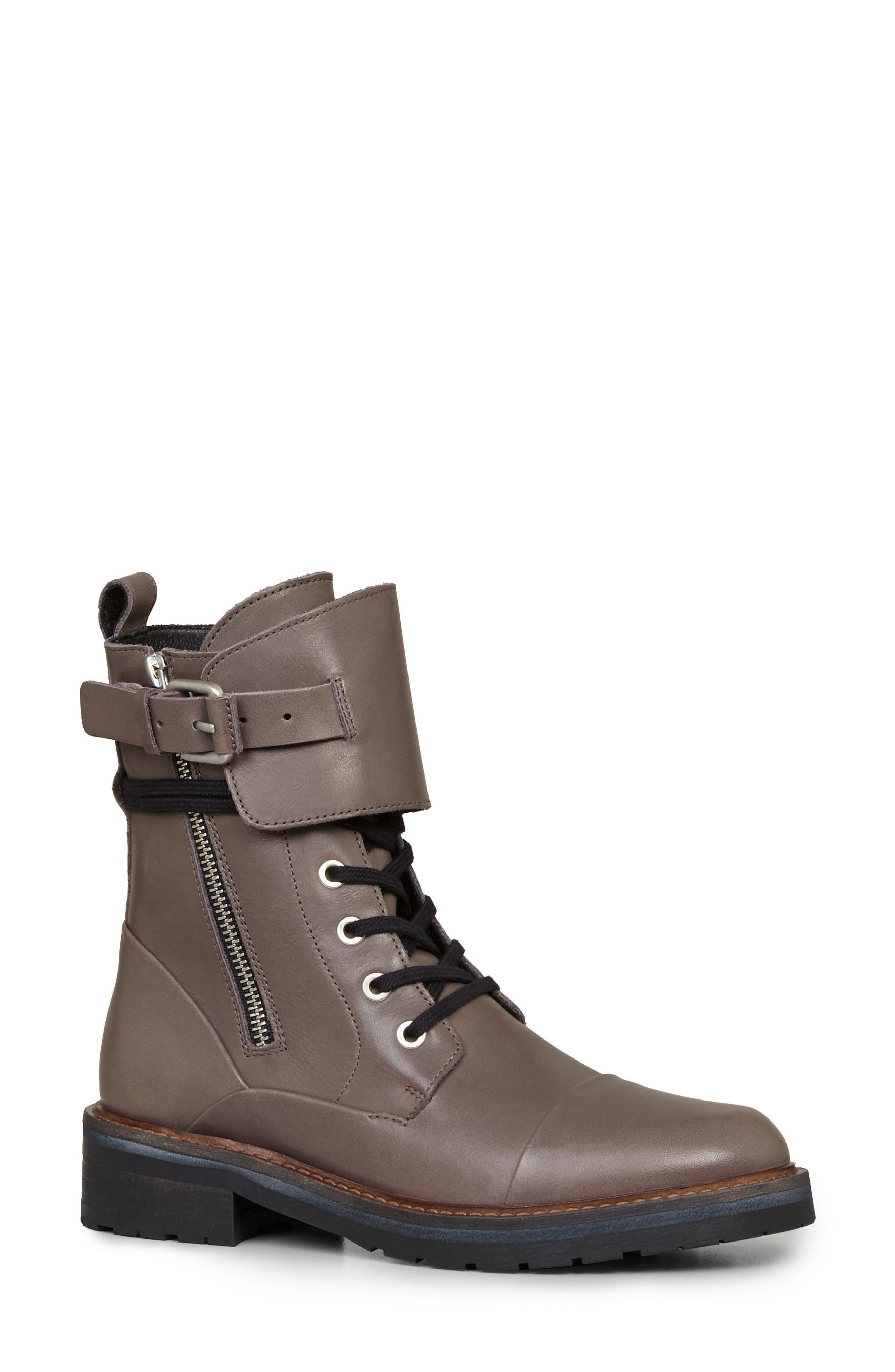 Alternate Image 1 Selected - ALLSAINTS Daria Cuffed Combat Boot (Women)
