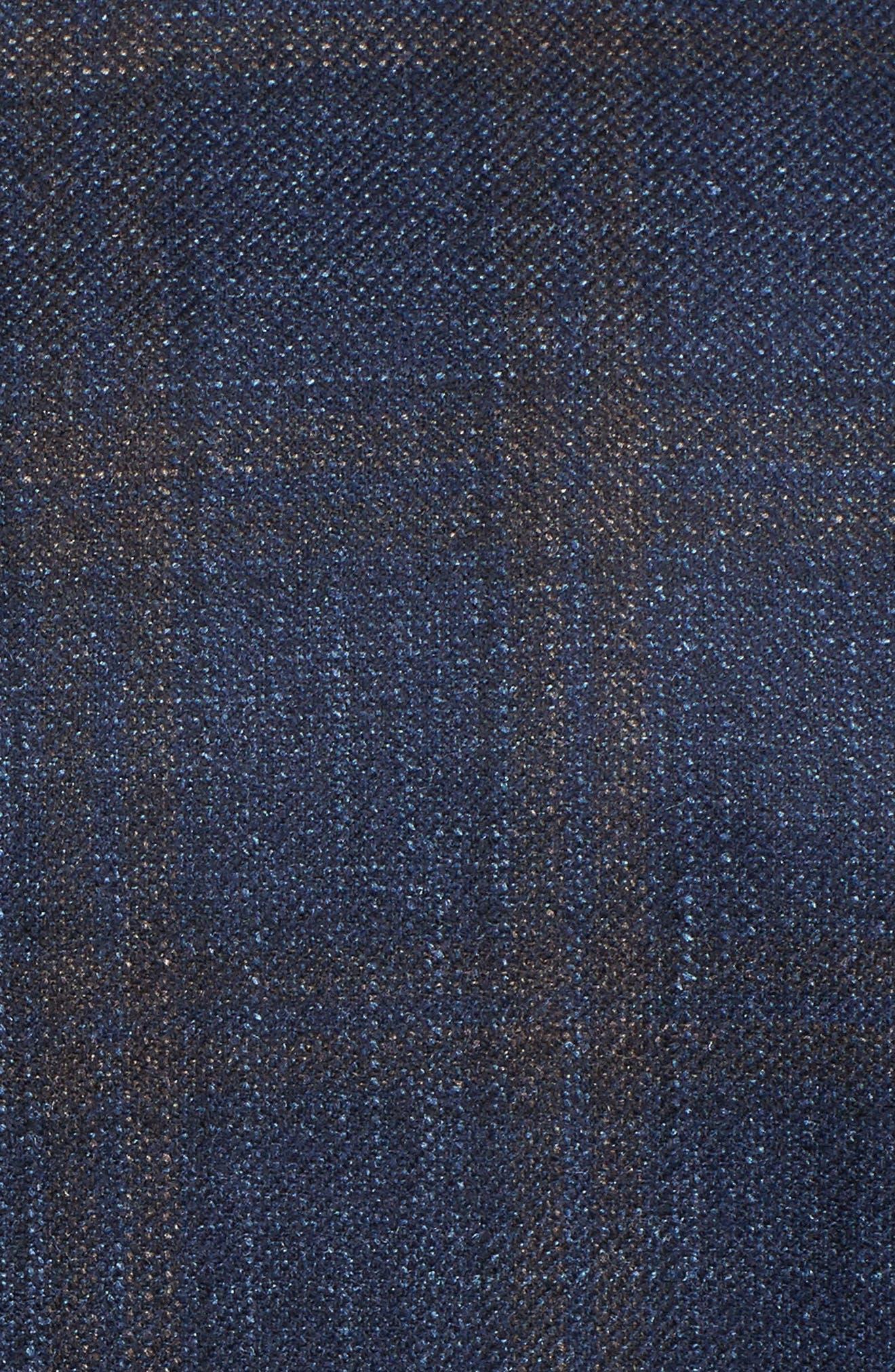 Alternate Image 5  - Hickey Freeman Classic B Fit Plaid Wool Blend Sport Coat