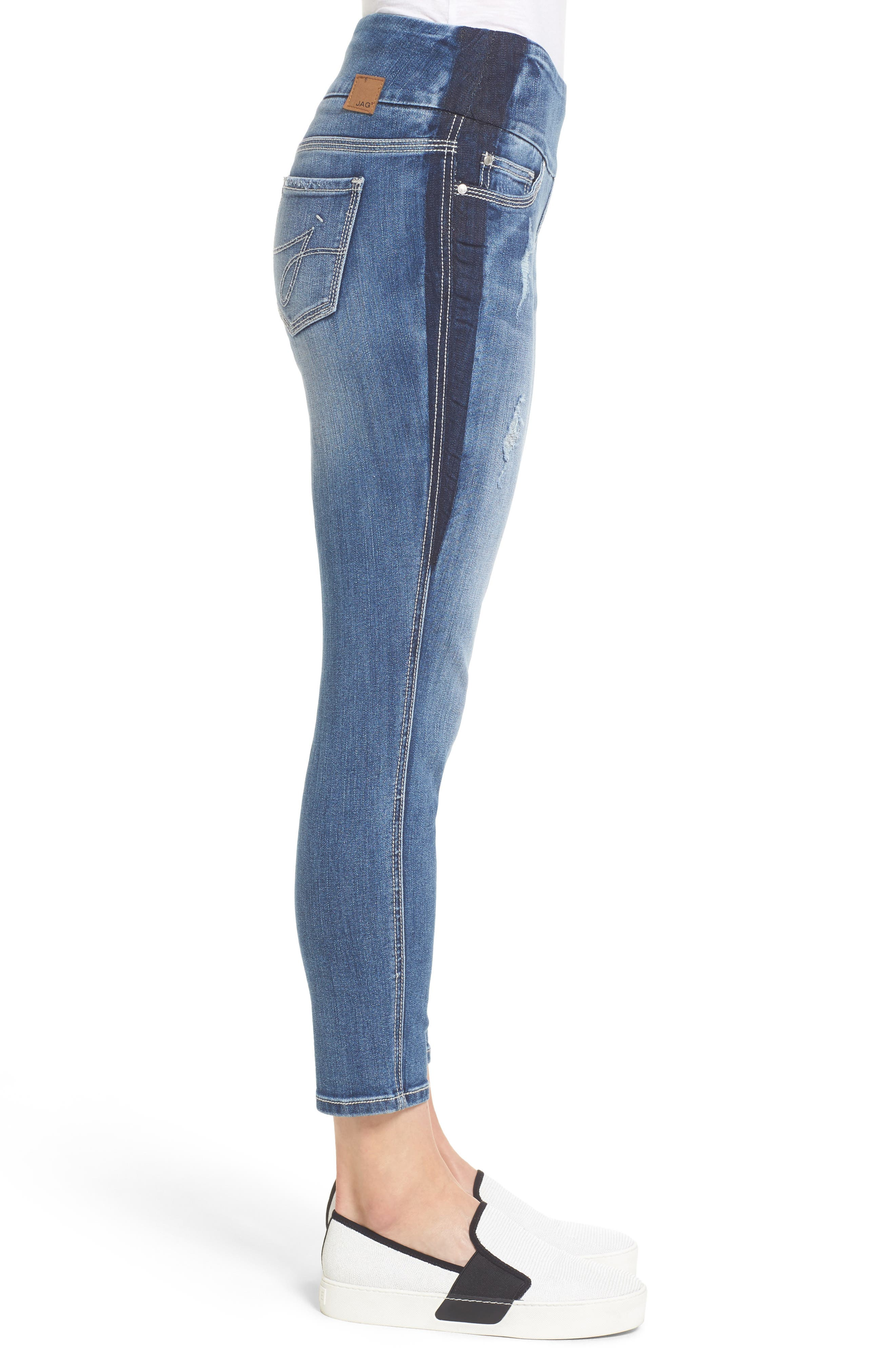 Alternate Image 3  - Jag Jeans Nora Marta Stretch Skinny Jeans (River Wash)