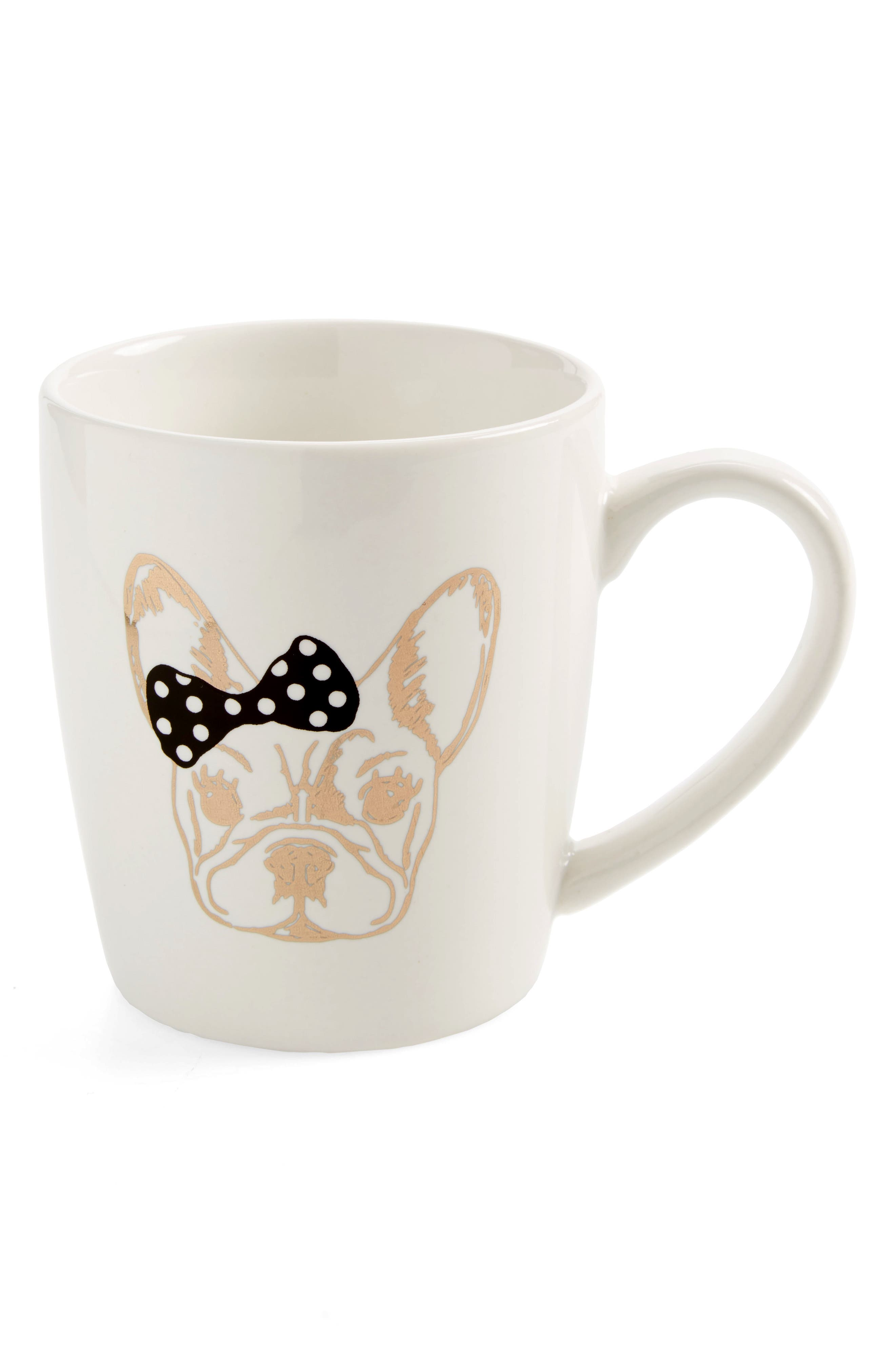 Alternate Image 1 Selected - American Atelier French Bulldog Mug