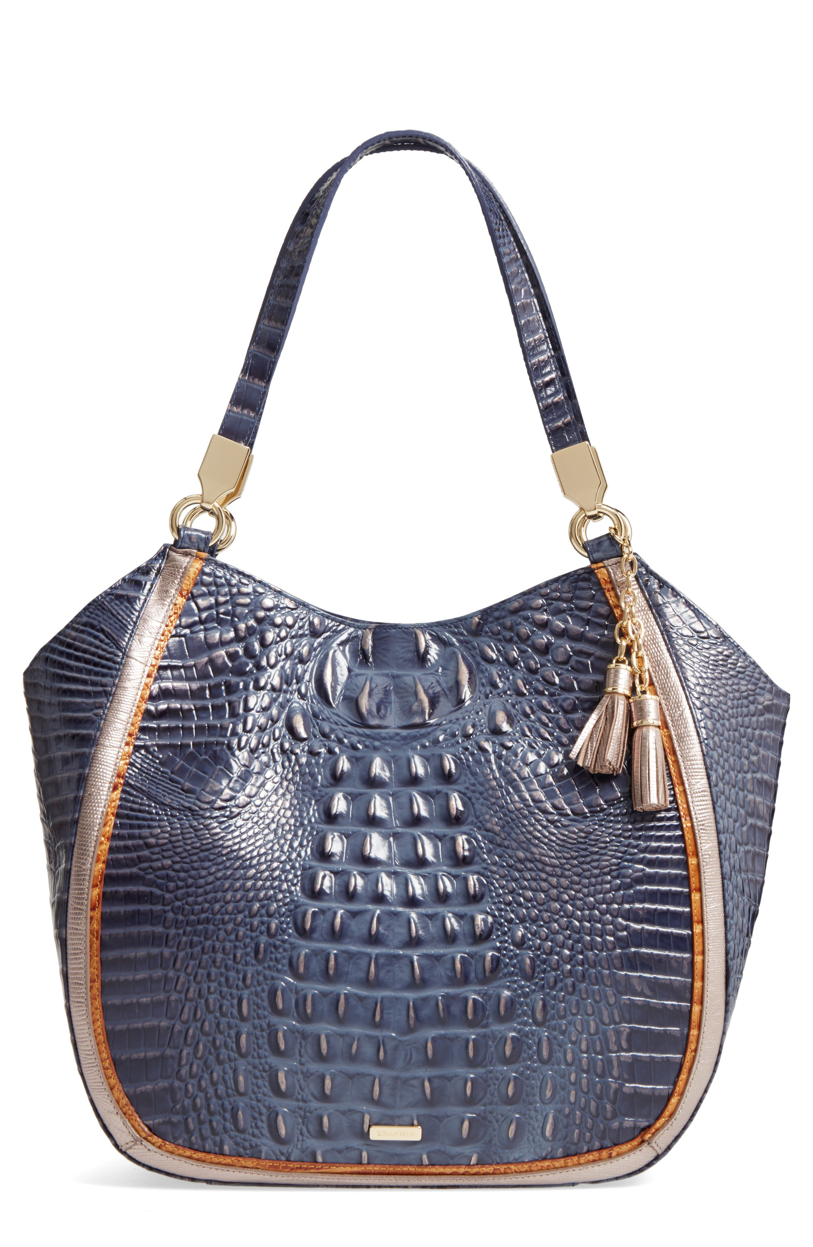 Brahmin Andesite Lucca Marianna Leather Tote