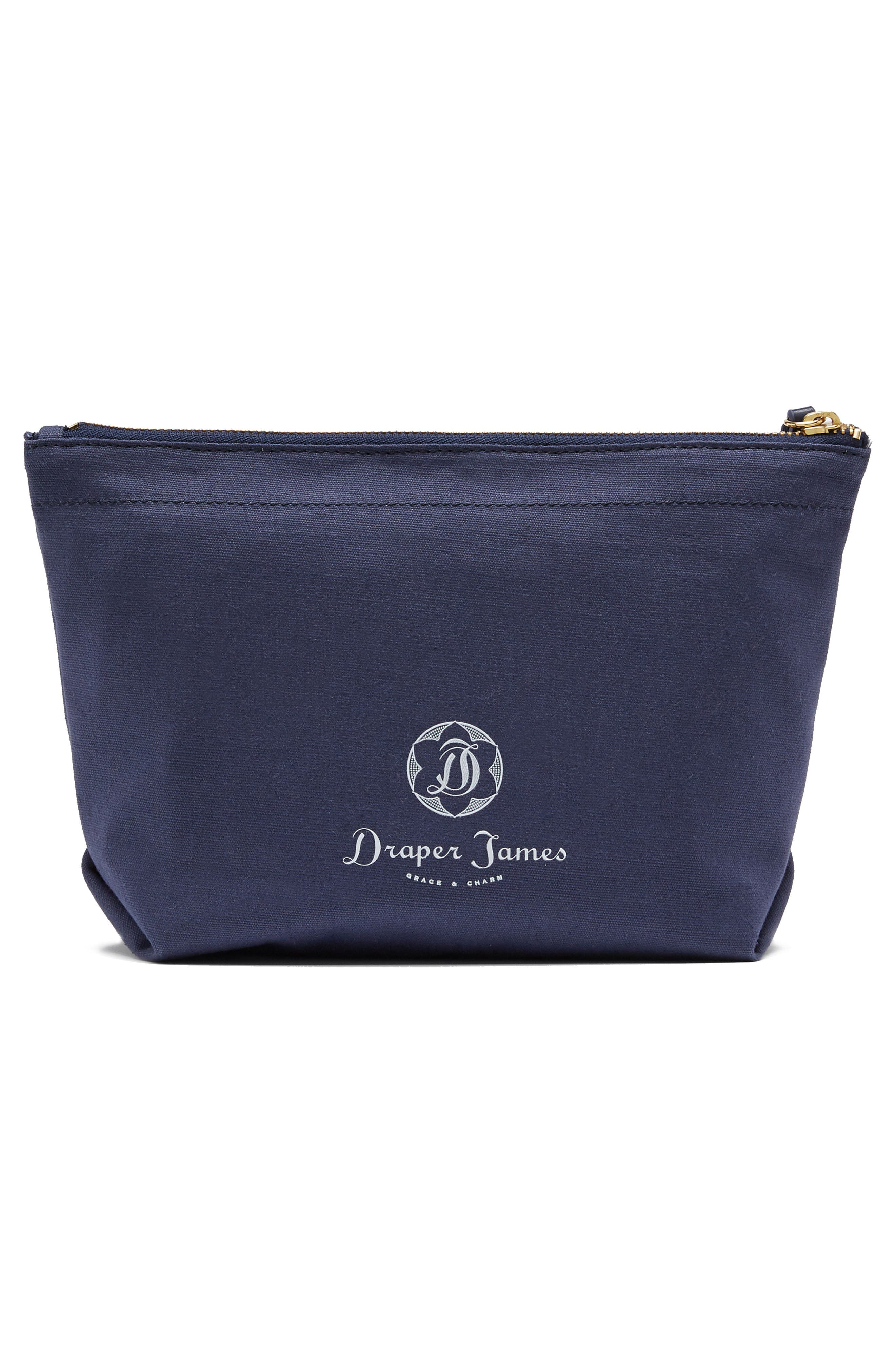 Alternate Image 3  - Draper James This 'N That Canvas Pouch