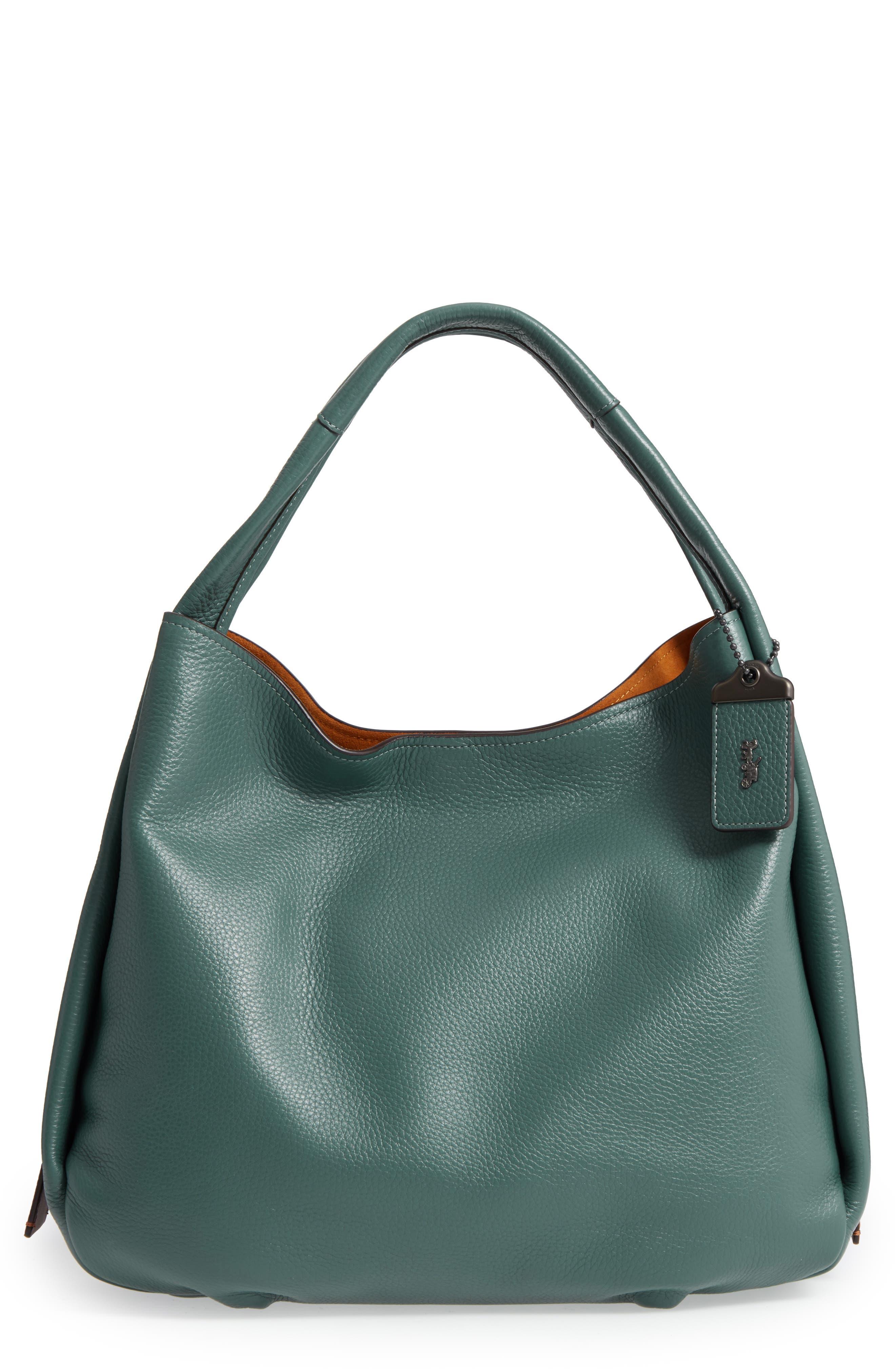 COACH 1941 Bandit Leather Hobo & Removable Shoulder Bag