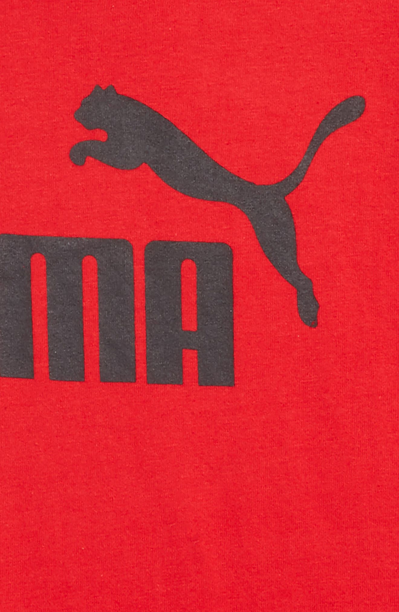 Alternate Image 2  - Puma Logo Graphic T-Shirt (Big Boys)