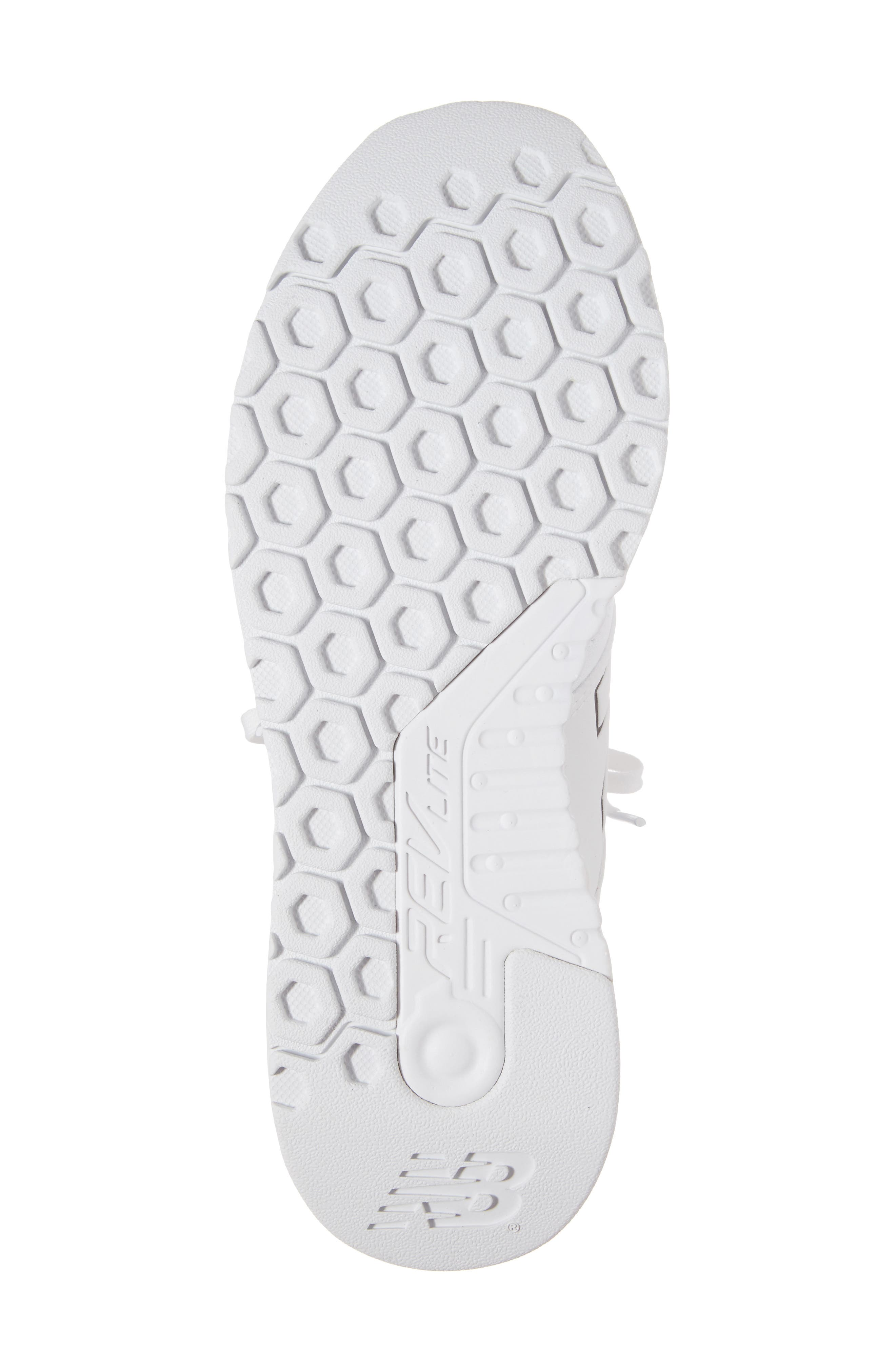 247 Classic Plus Sneaker,                             Alternate thumbnail 6, color,                             White