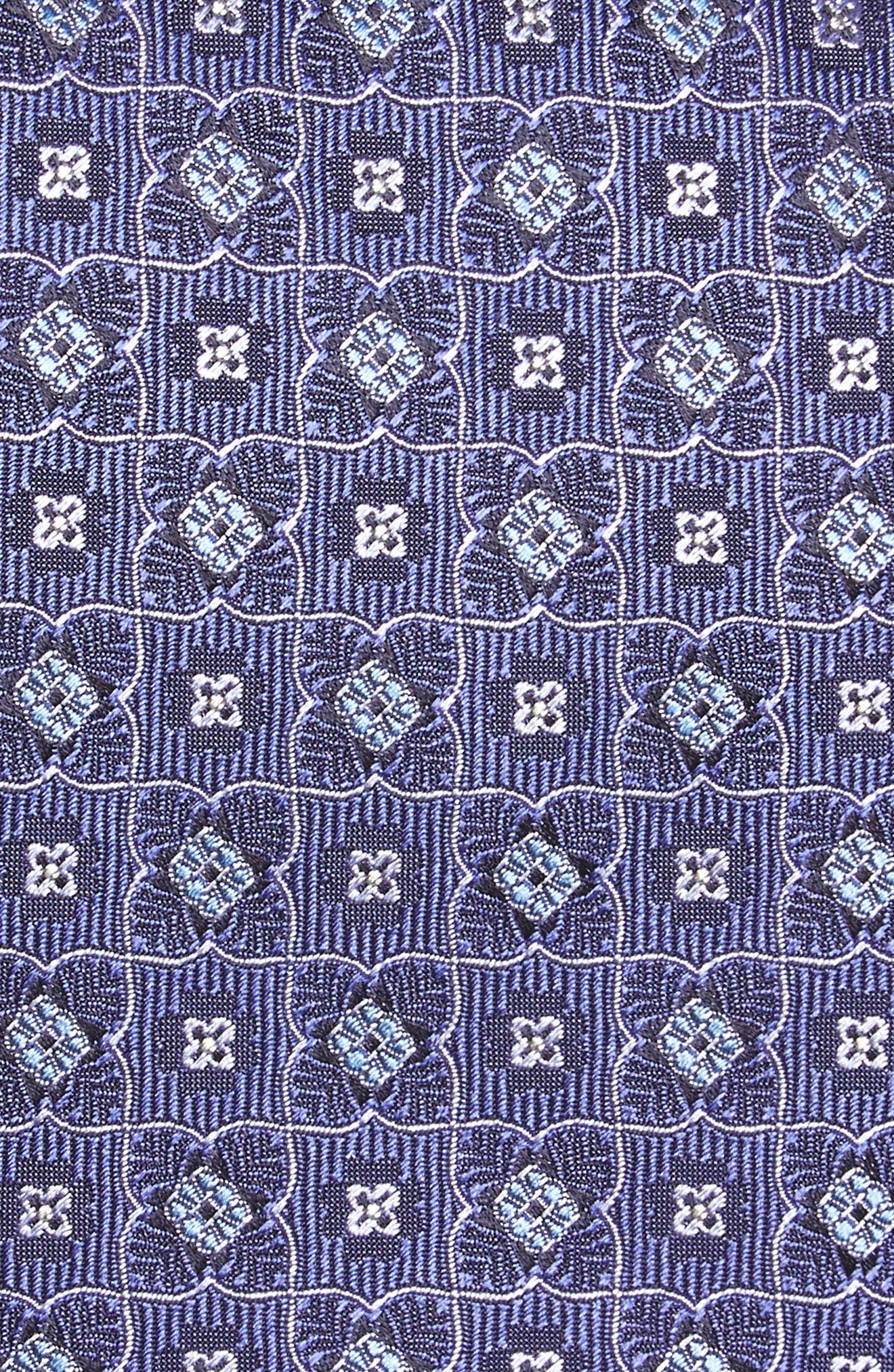 Alternate Image 2  - Canali Geometric Silk Tie