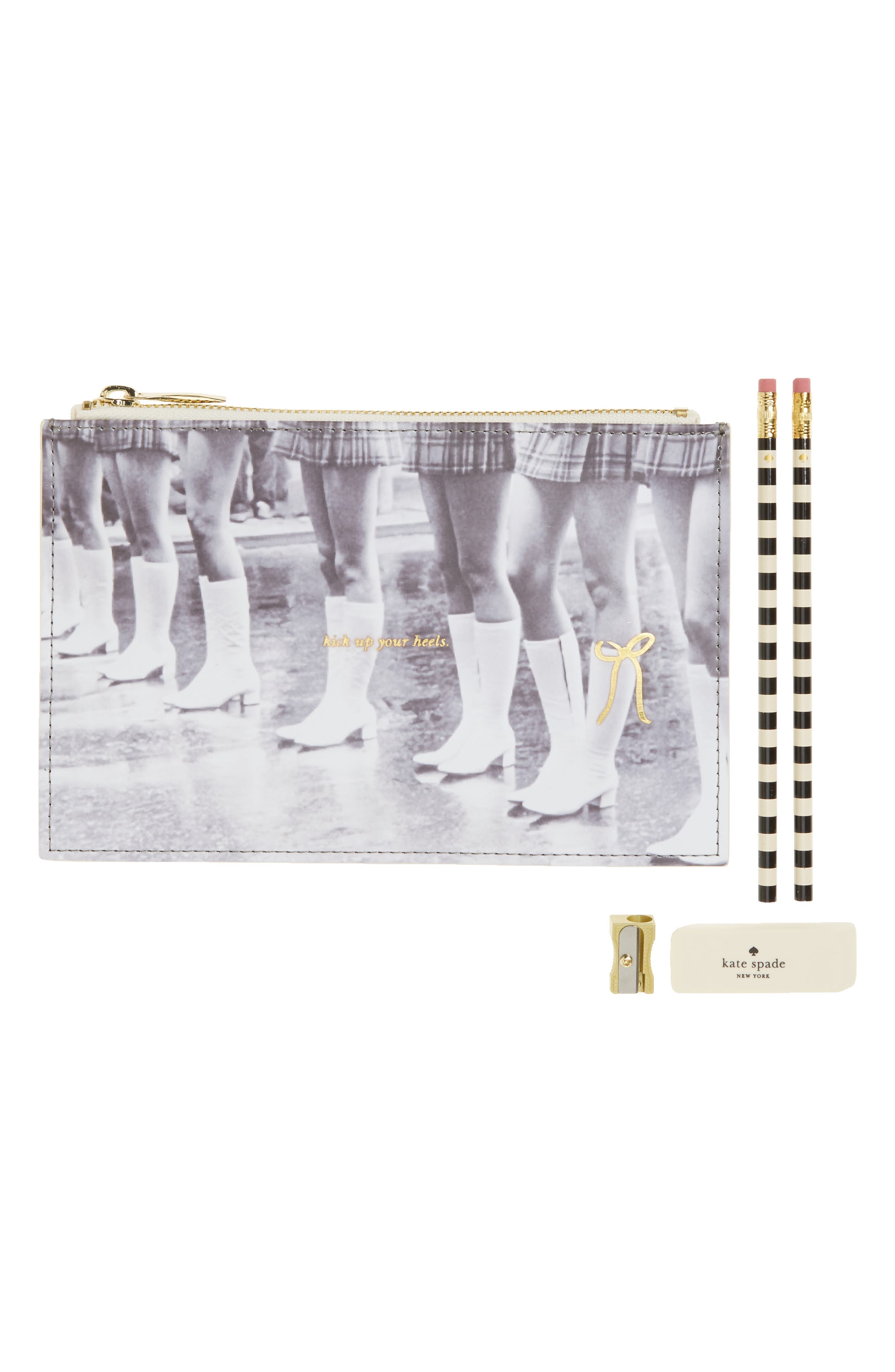 kate spade new york kick up your heels pencil pouch