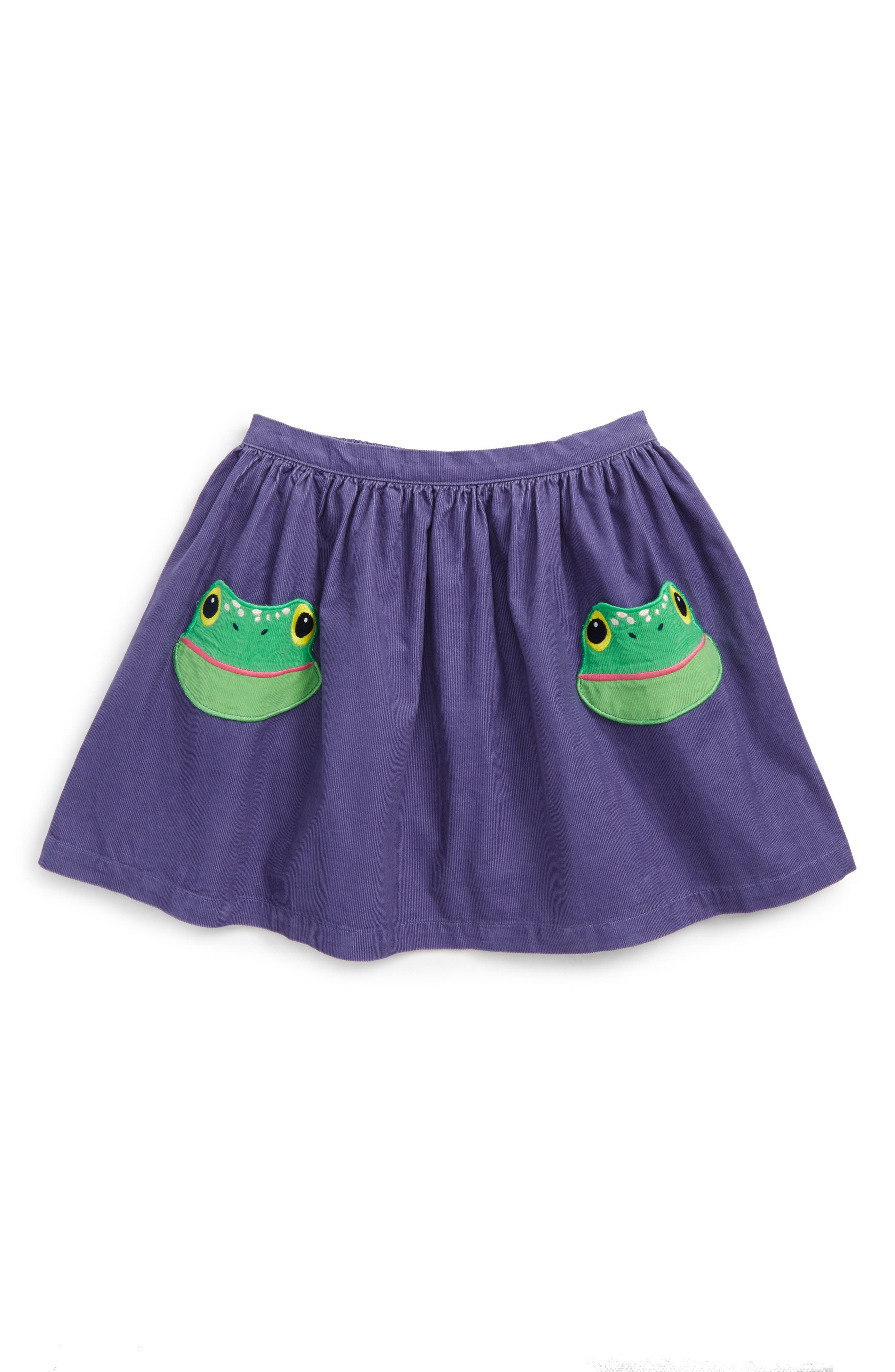 Mini Boden Animal Pocket Corduroy Skirt (Toddler Girls, Little Girls & Big Girls)