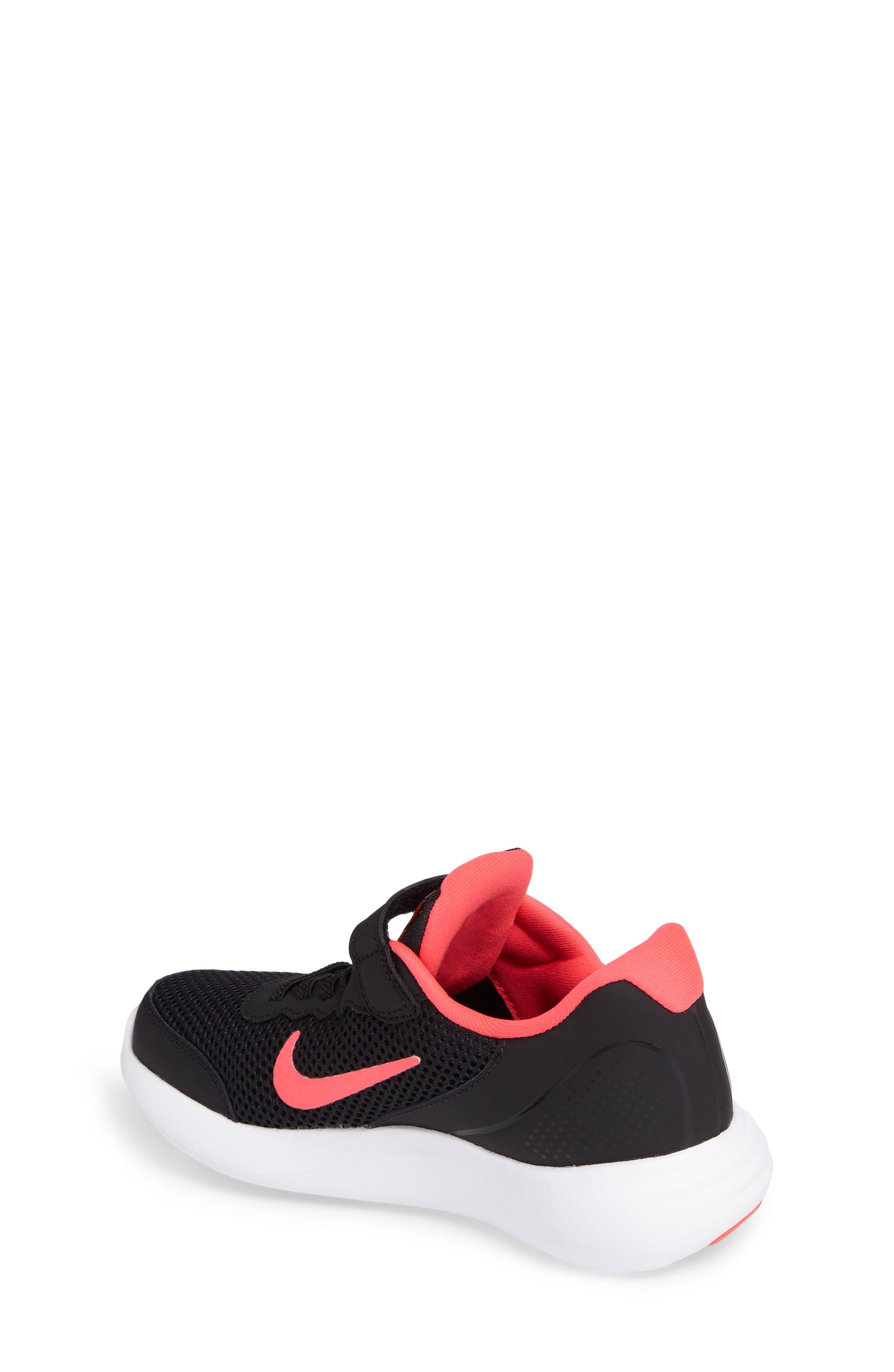 Lunar Apparent Sneaker,                             Alternate thumbnail 2, color,                             Black/ Racer Pink/ White