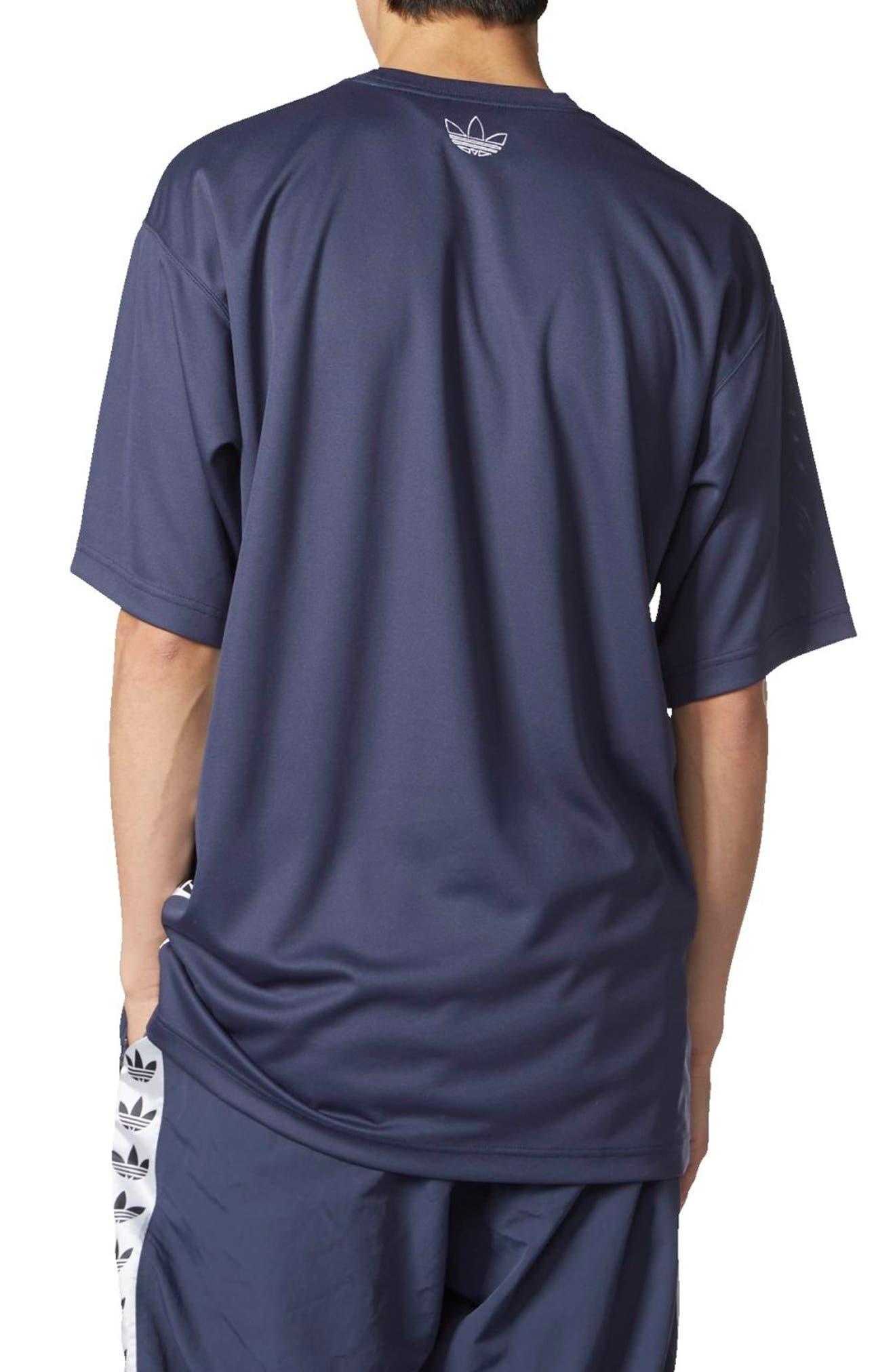 TNT Tape T-Shirt,                             Alternate thumbnail 2, color,                             Trace Blue/ White