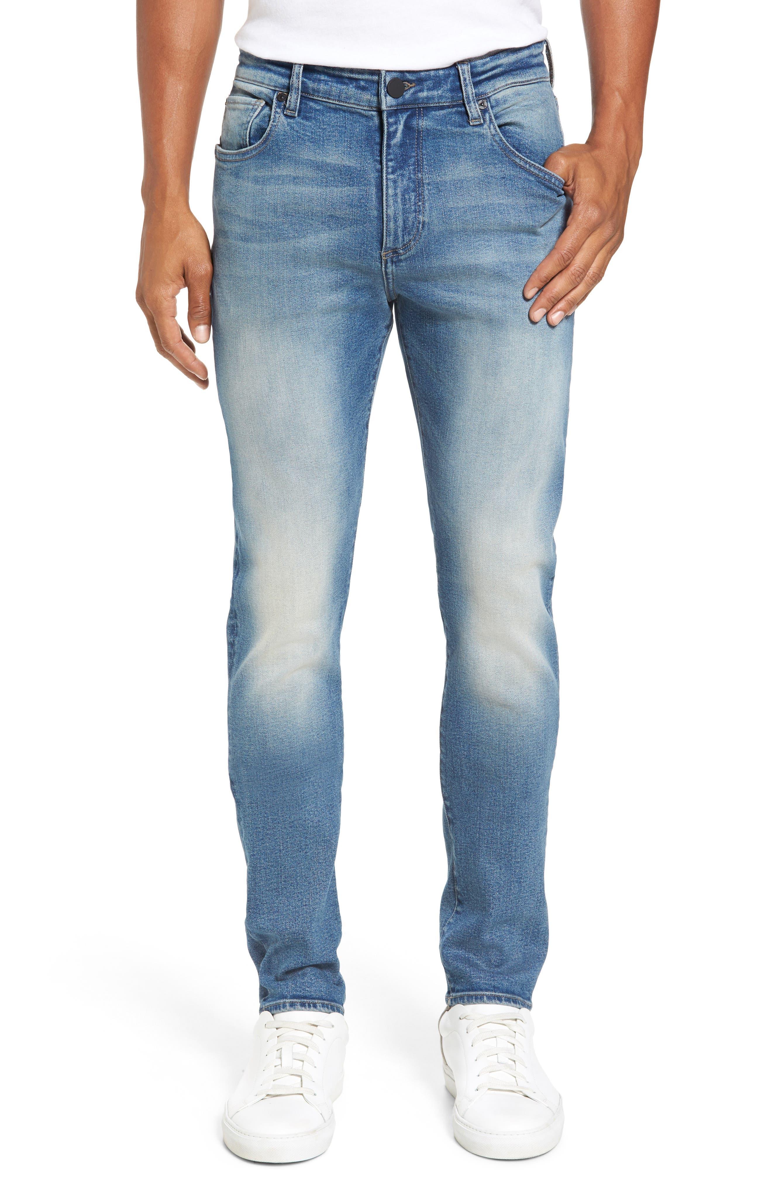 Main Image - DL1961 Hunter Skinny Jeans (Halt)