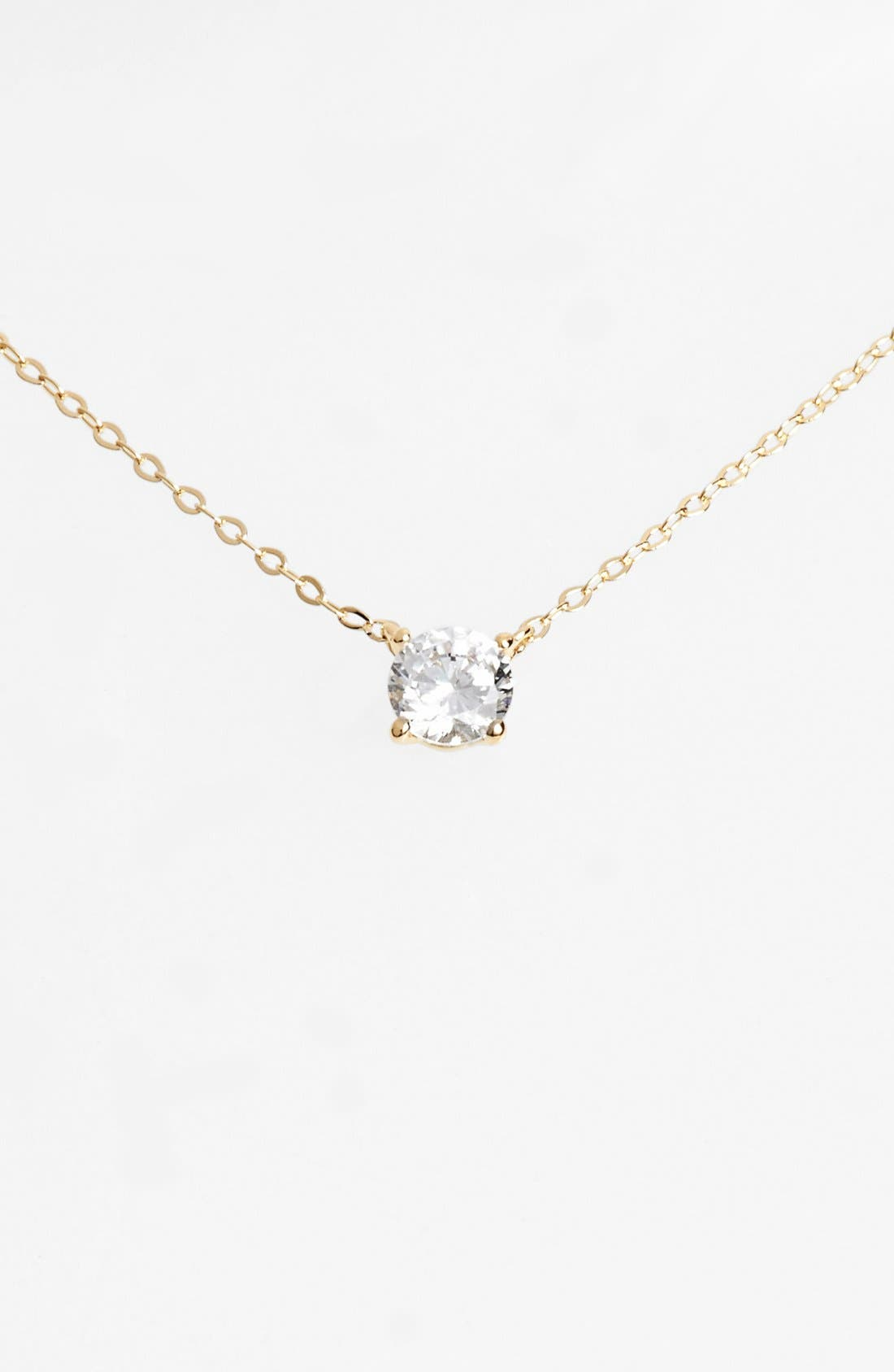 Nadri cubic zirconia pendant necklace gold modesens nadri cubic zirconia pendant necklace gold aloadofball Images