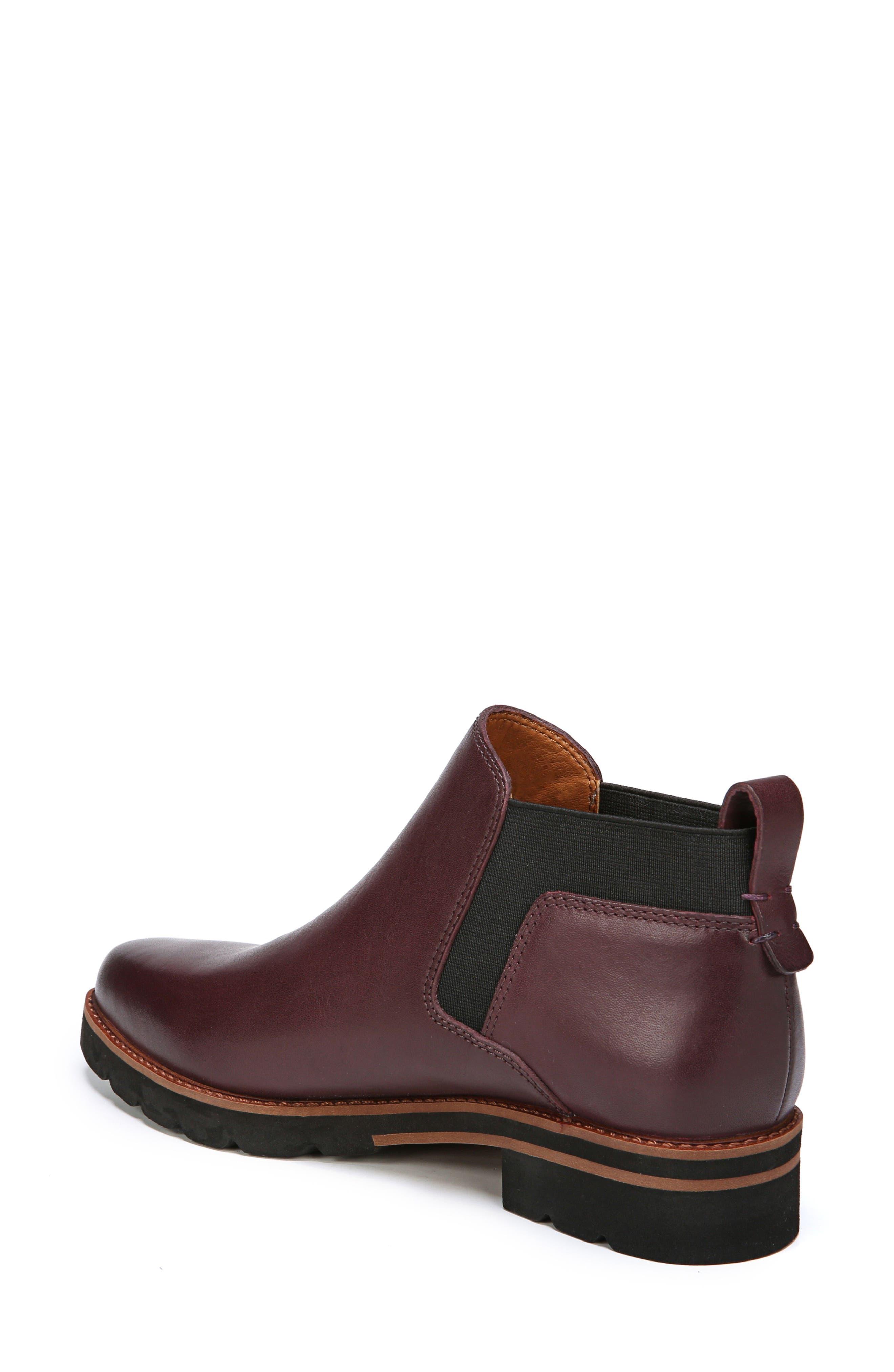 Bringham Bootie,                             Alternate thumbnail 2, color,                             Dark Burgundy Leather