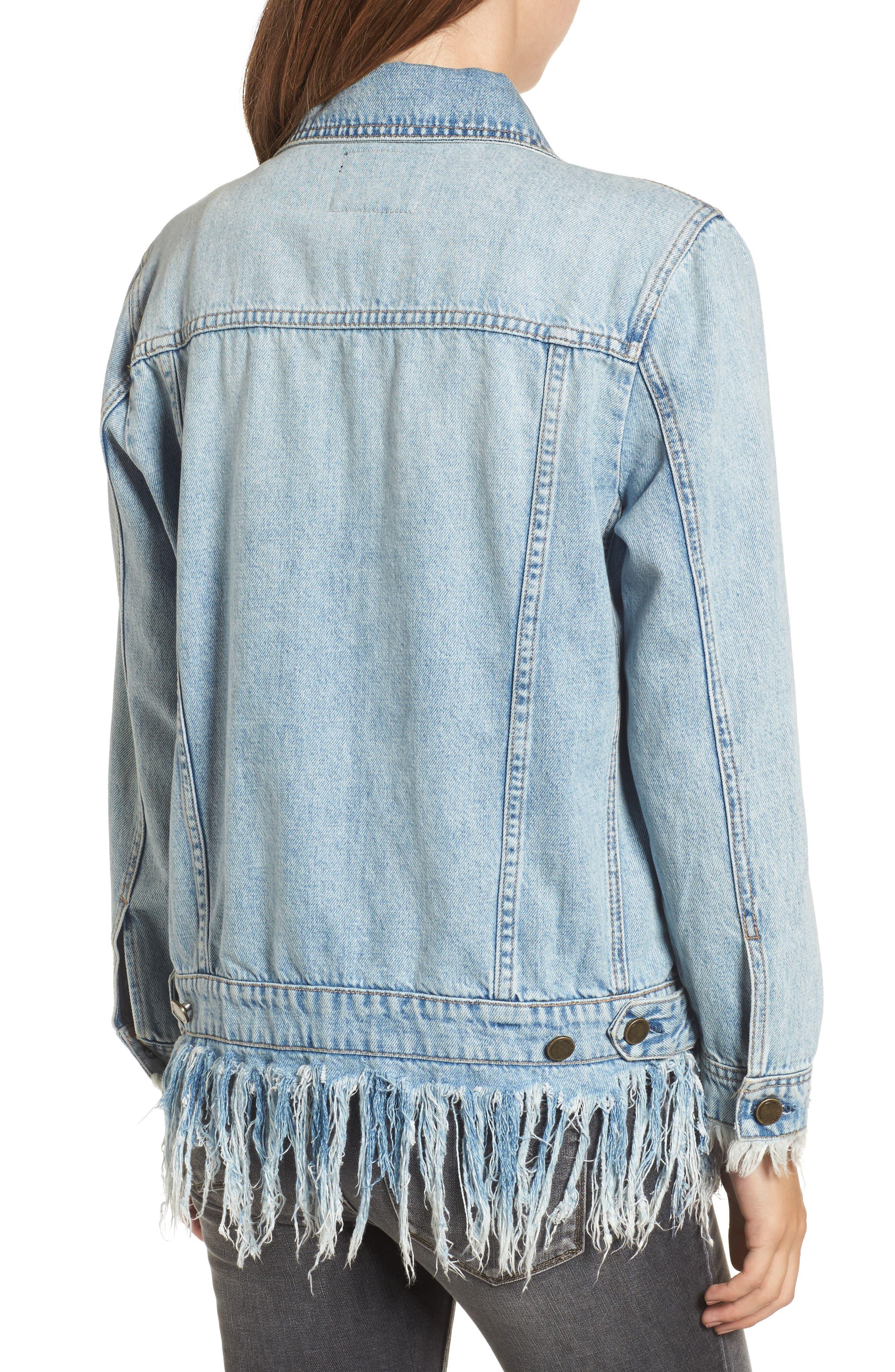 Alternate Image 2  - BLANKNYC Whiplash Denim Jacket