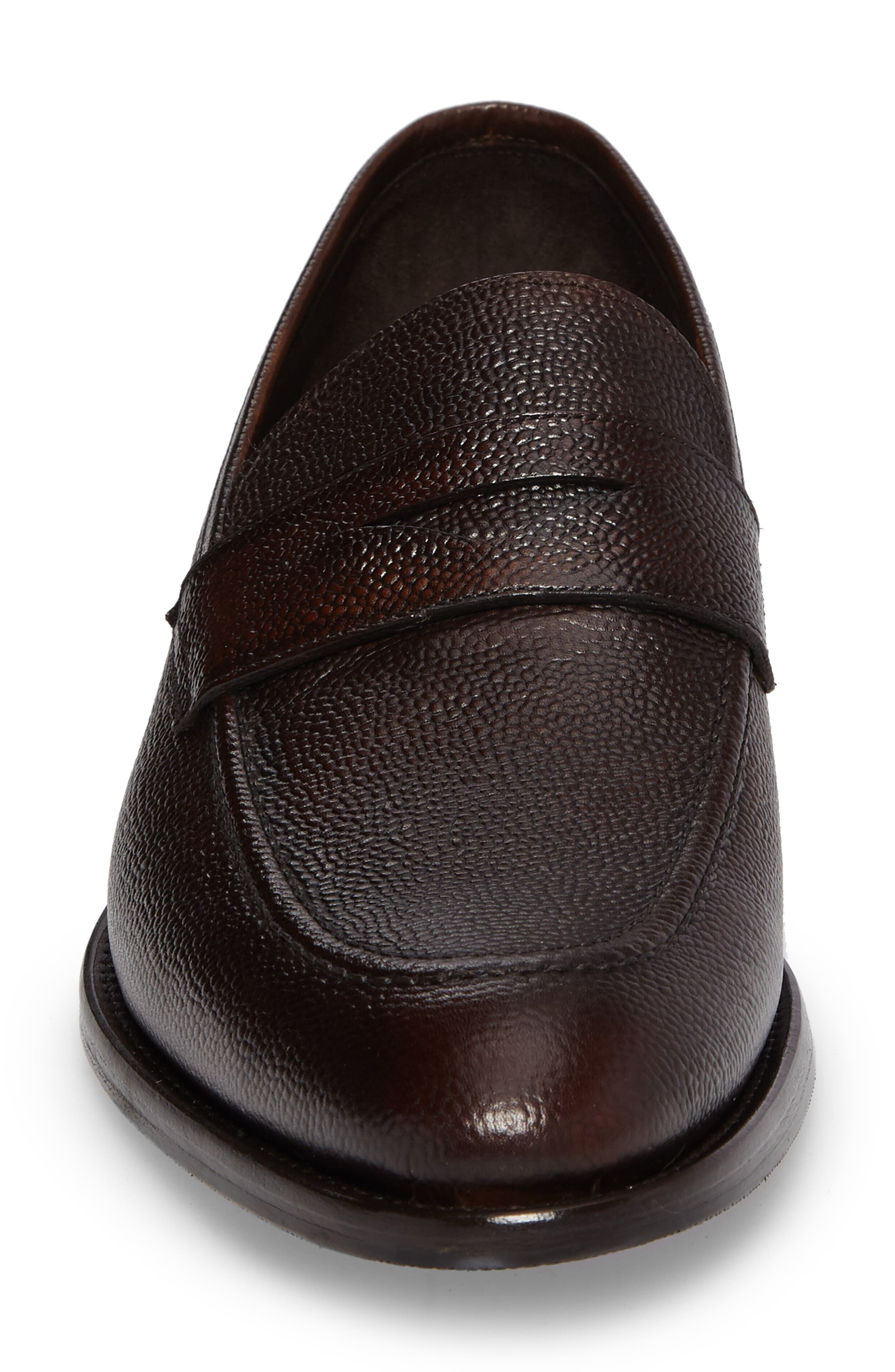 James Penny Loafer,                             Alternate thumbnail 4, color,                             Brown Leather