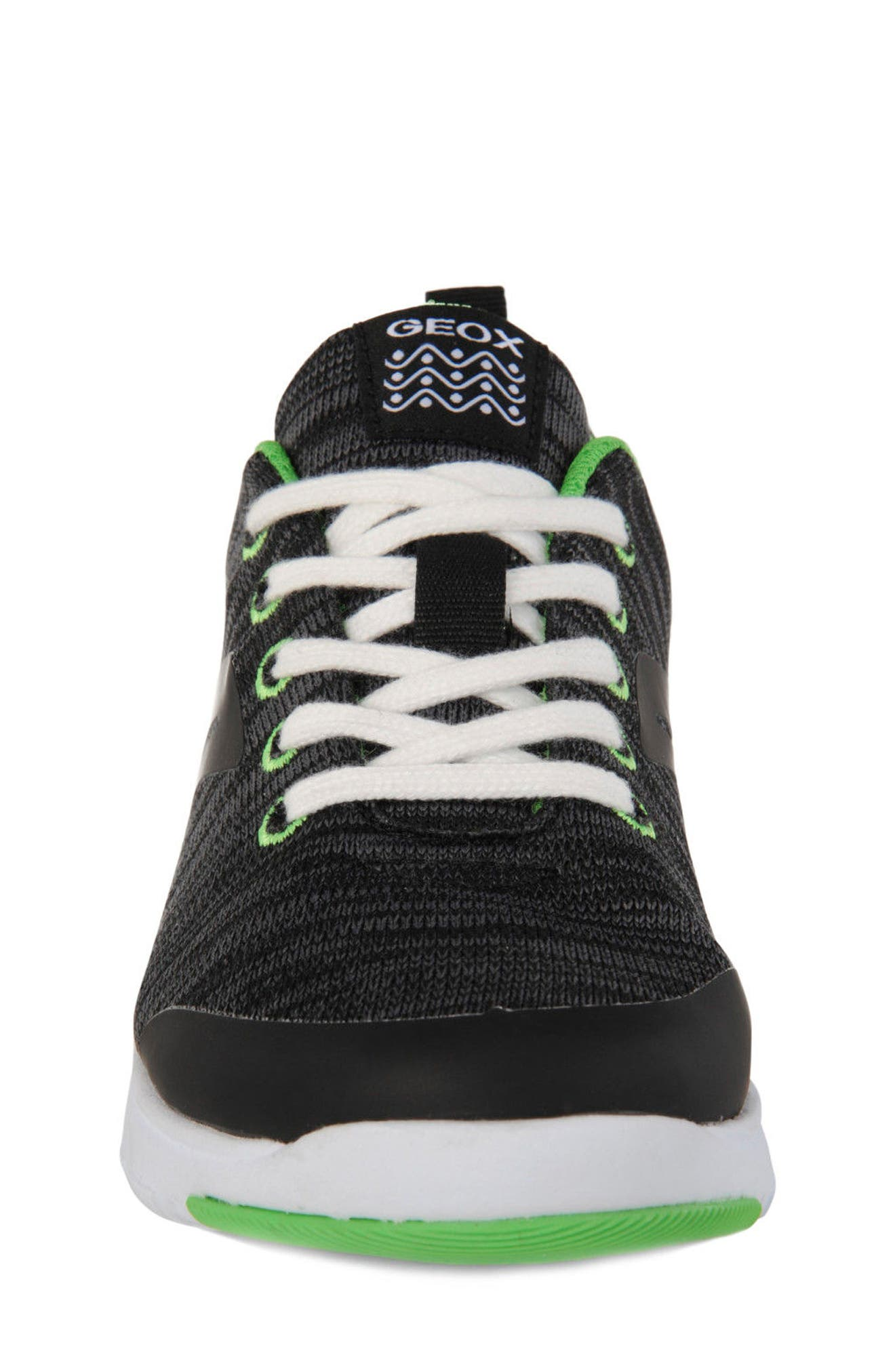 Alternate Image 4  - Geox Xunday Performance Knit Low Top Sneaker (Toddler, Little Kid & Big Kid)