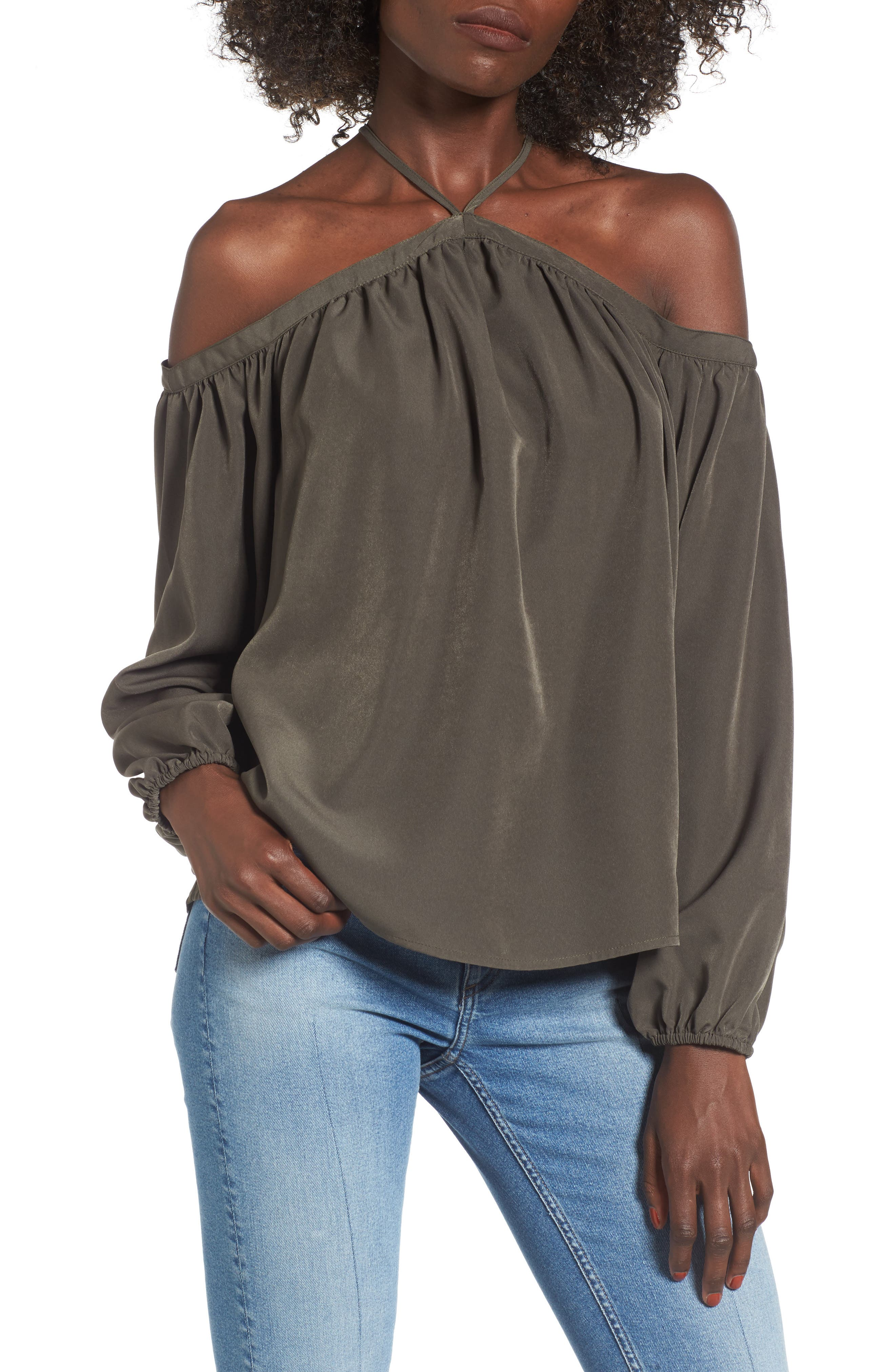 BP. Off the Shoulder Halter Top
