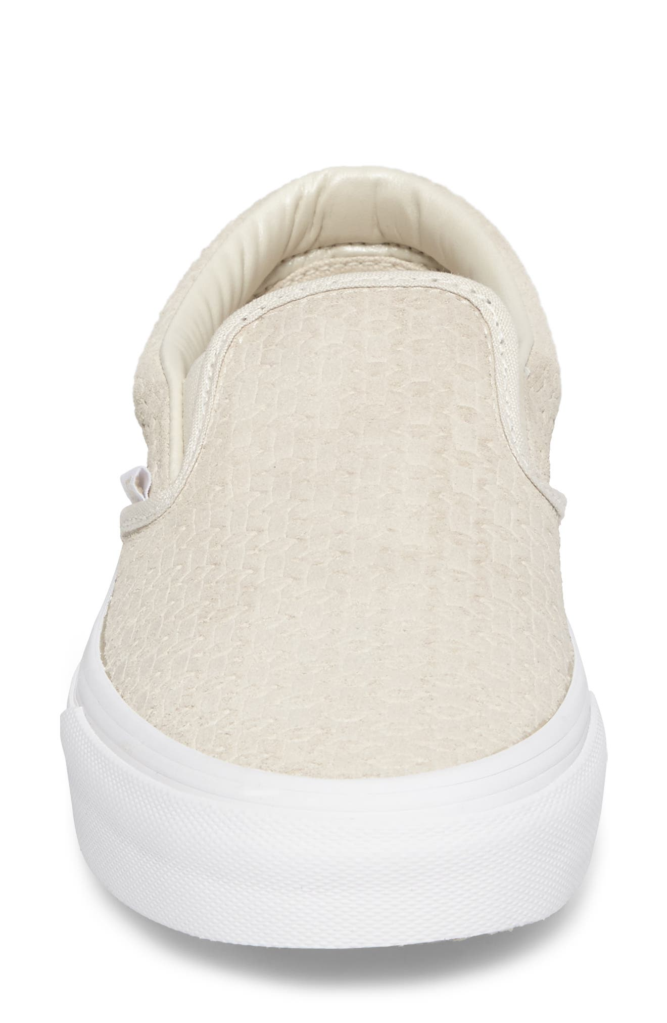 Alternate Image 4  - Vans Classic Slip-On Sneaker (Women)