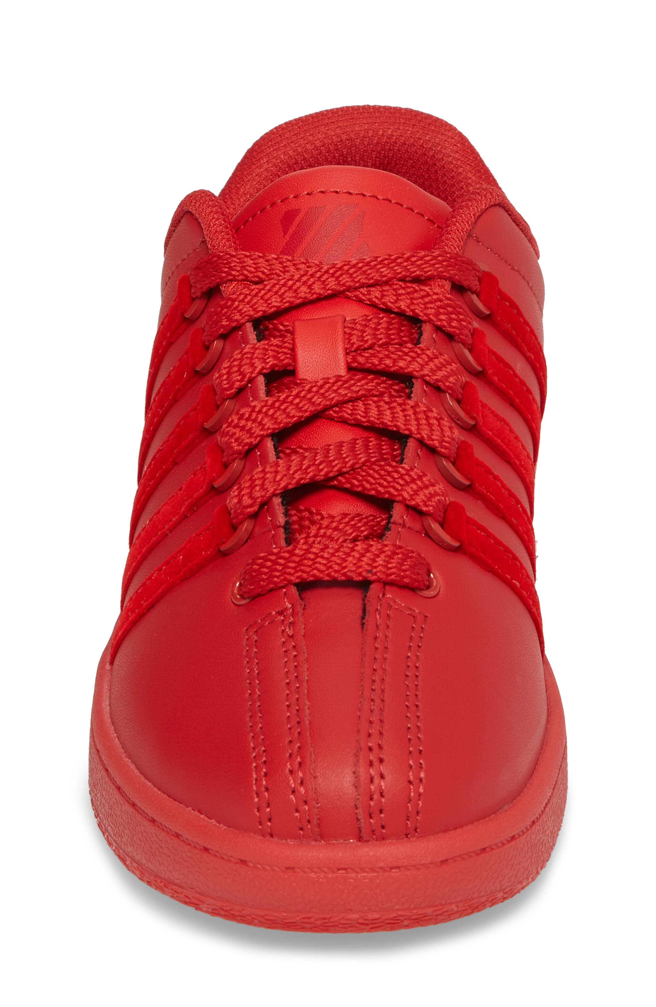 Classic VN Sneaker,                             Alternate thumbnail 4, color,                             Ribbon Red