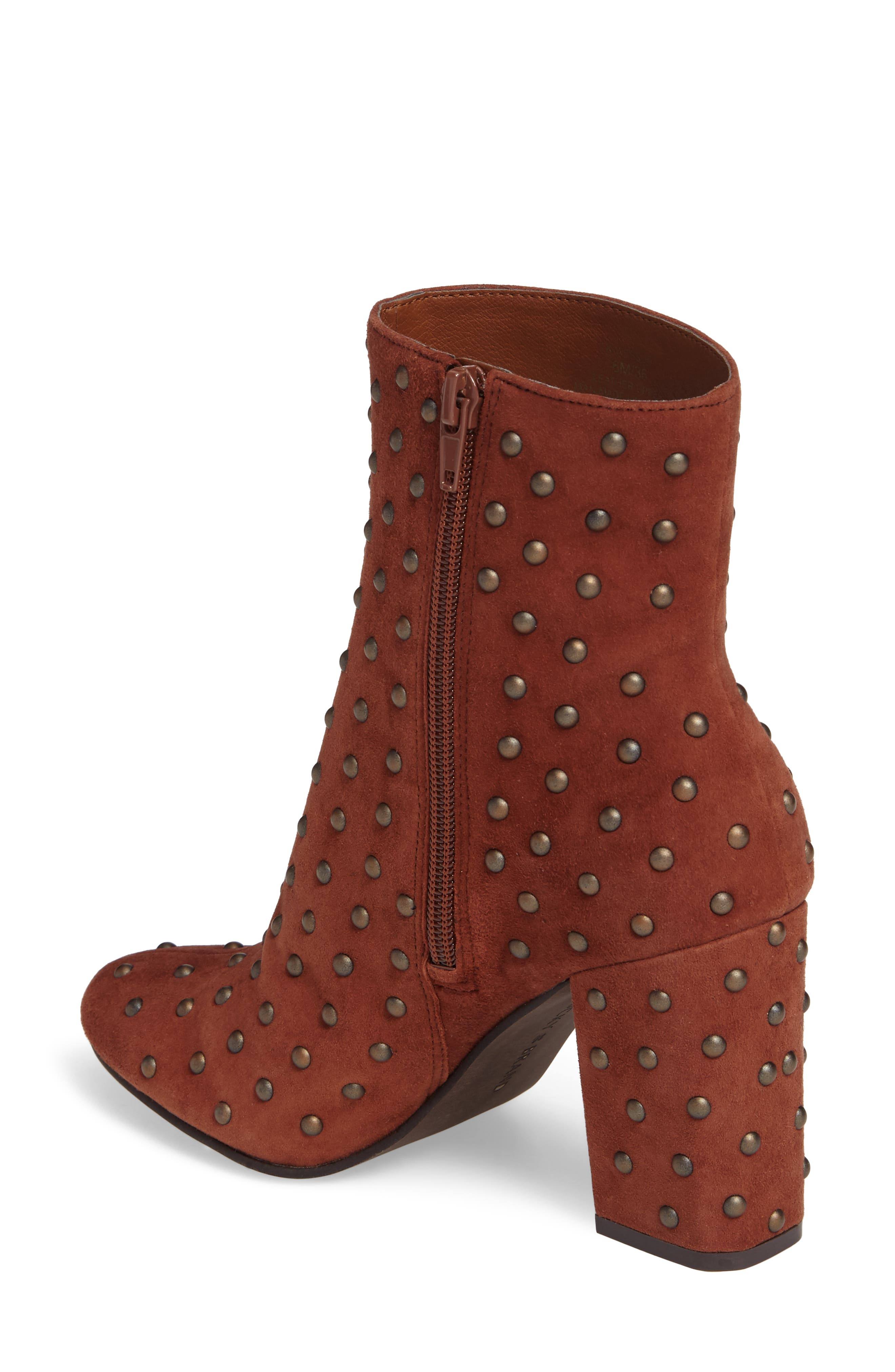 Alternate Image 2  - Lucky Brand Wesson II Studded Bootie (Women)