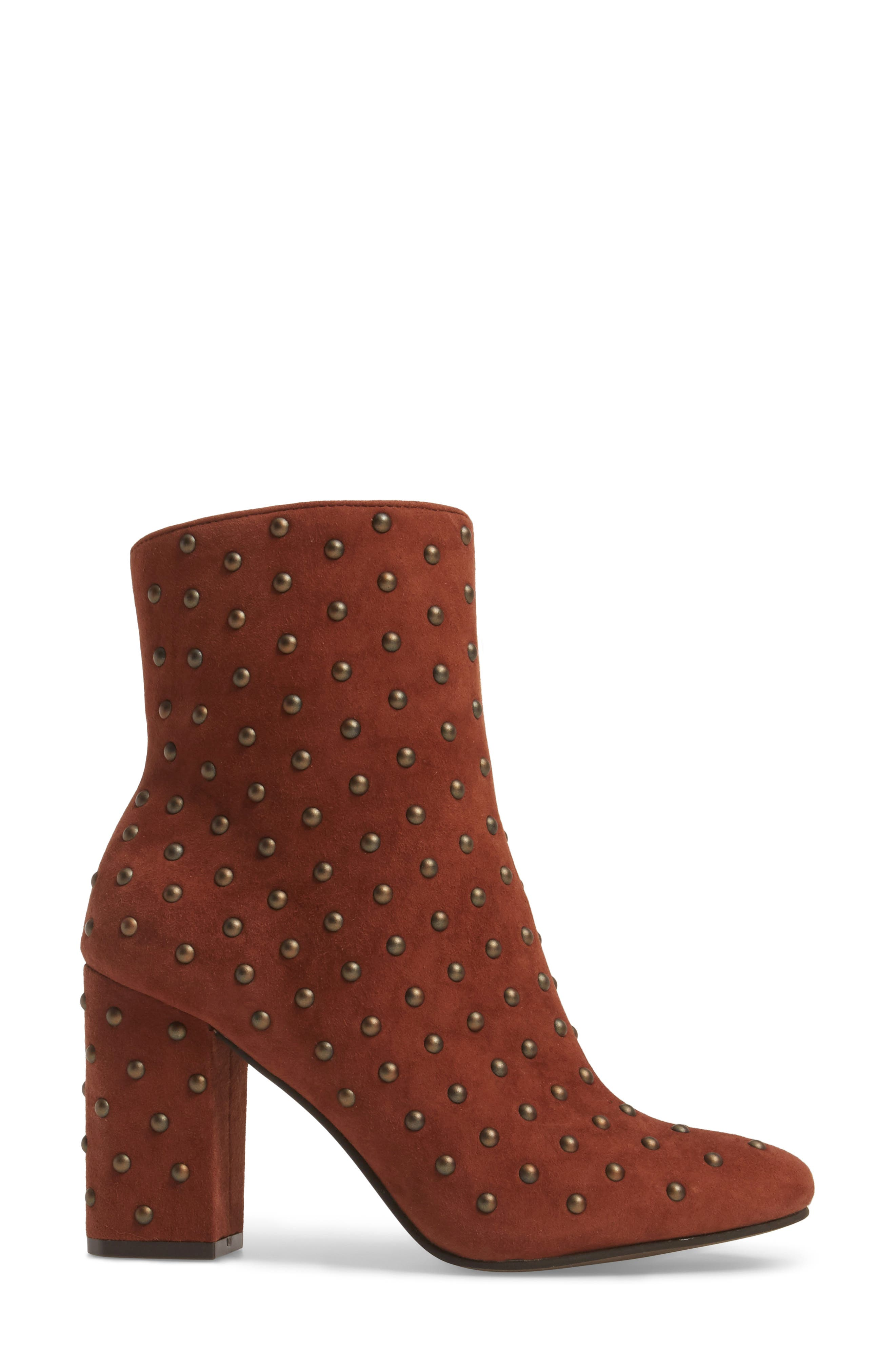 Alternate Image 3  - Lucky Brand Wesson II Studded Bootie (Women)
