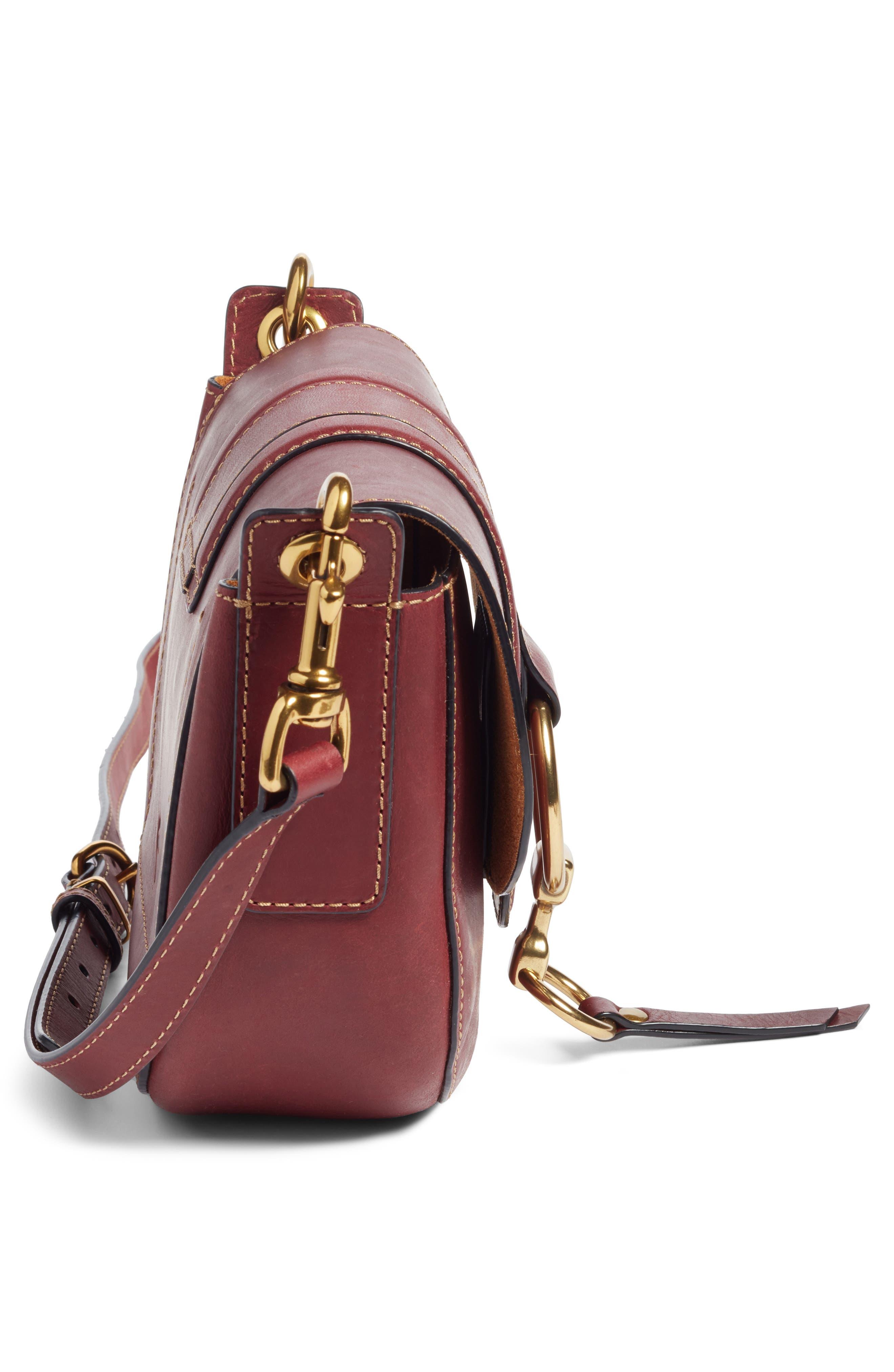 Alternate Image 5  - Frye Small Ilana Harness Leather Saddle Bag