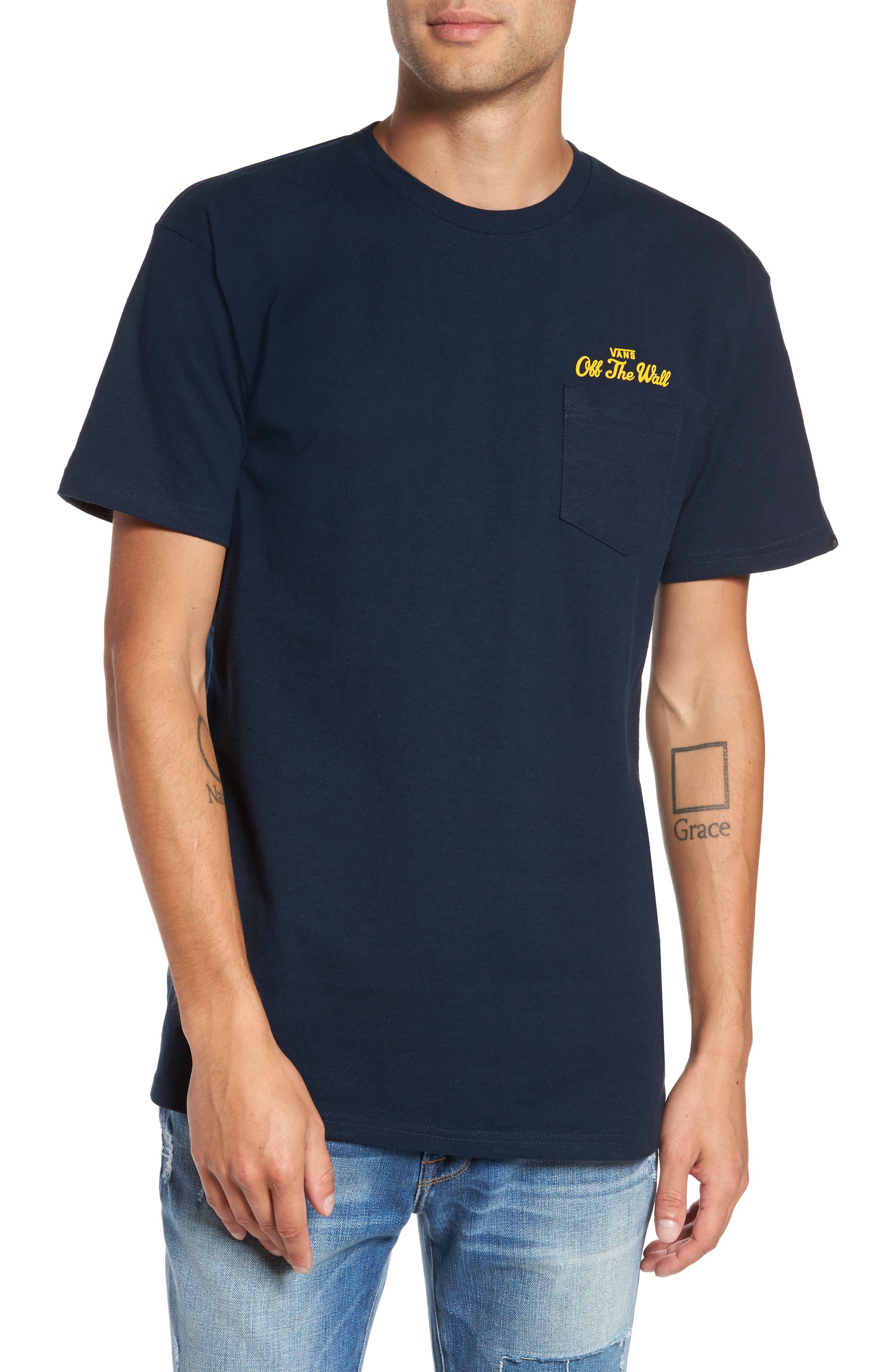Vans Original Logo Graphic Pocket T-Shirt