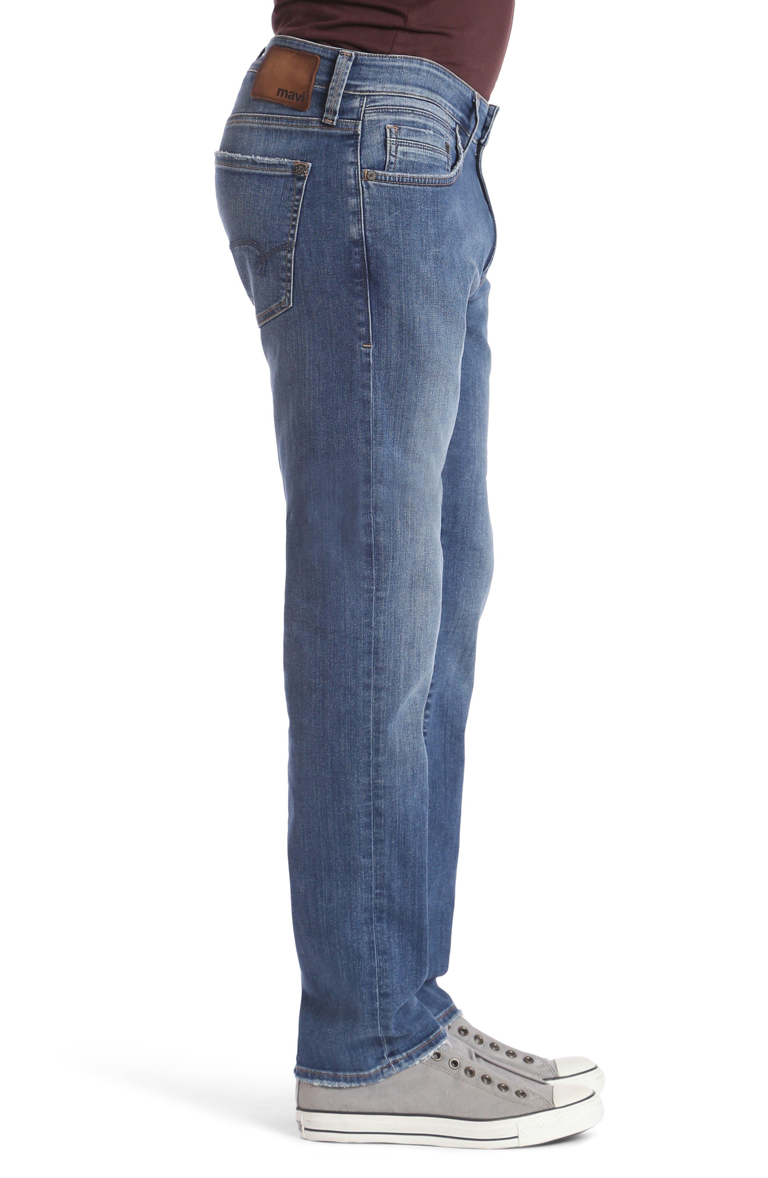 Alternate Image 3  - Mavi Jeans Matt Relaxed Fit Jeans (Mid Clean Comfort)