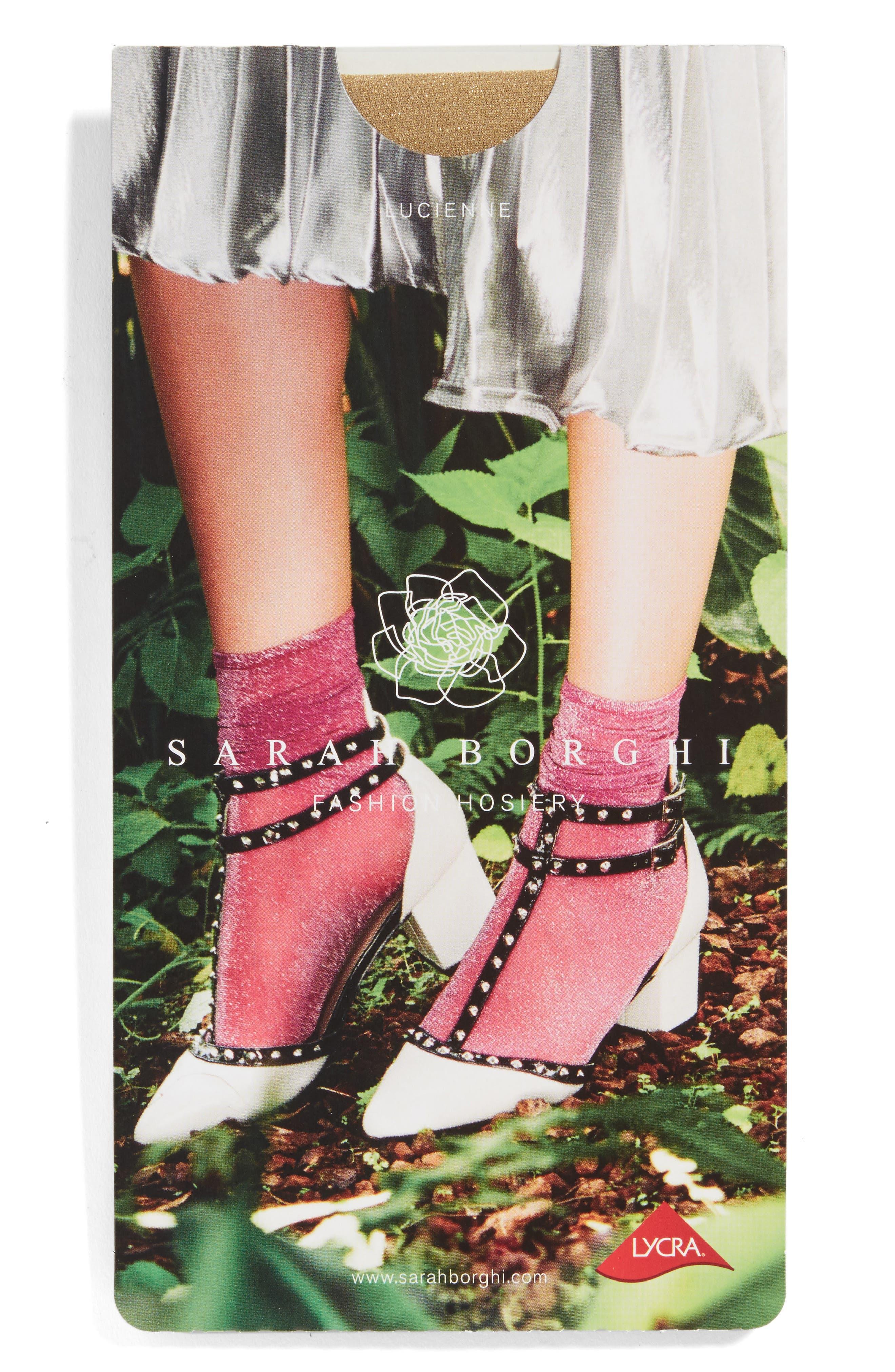 Alternate Image 2  - Sarah Borghi Lucienne Ankle Socks