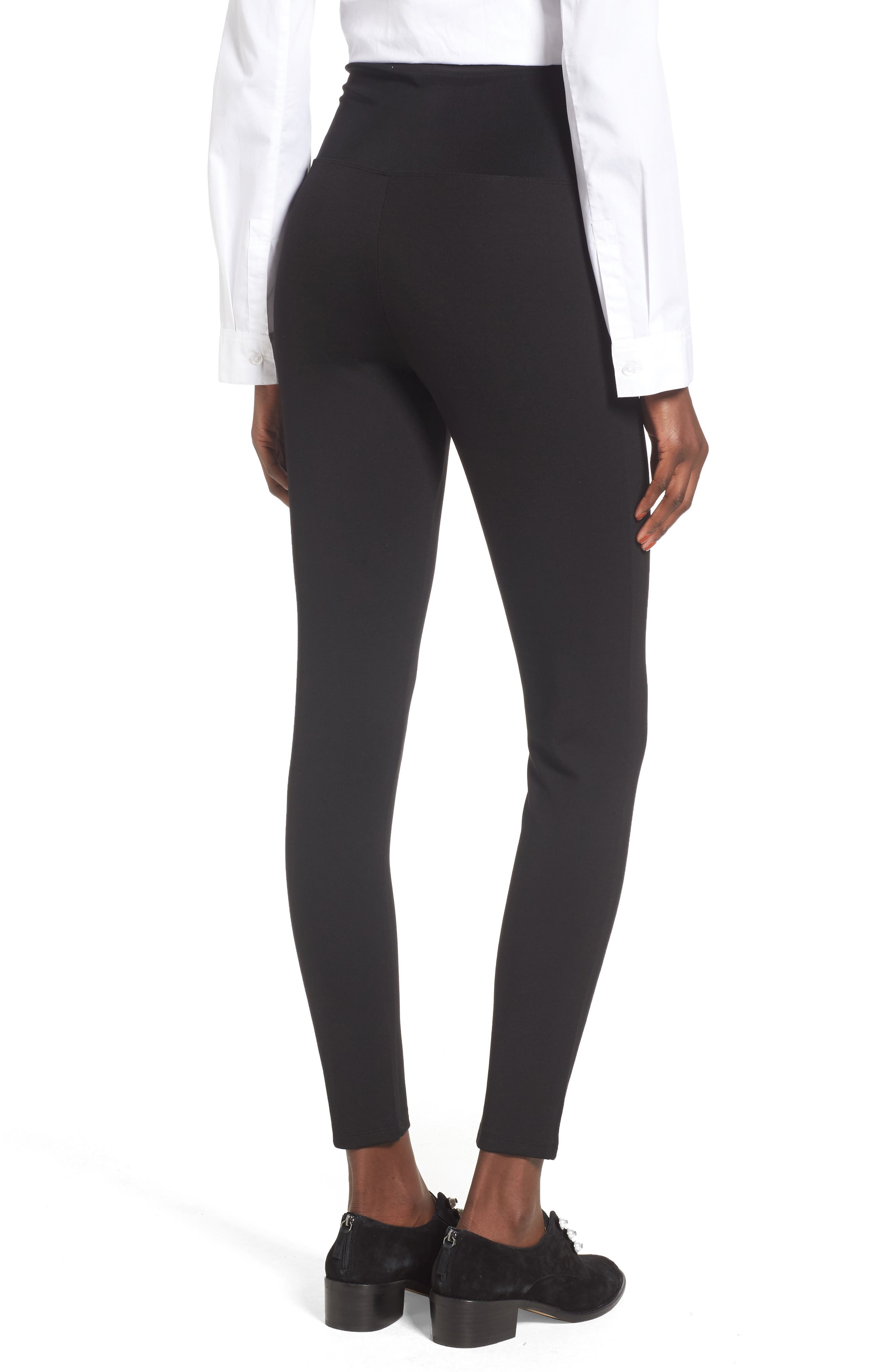 Alternate Image 2  - Leith High Waist Lace-Up Pants