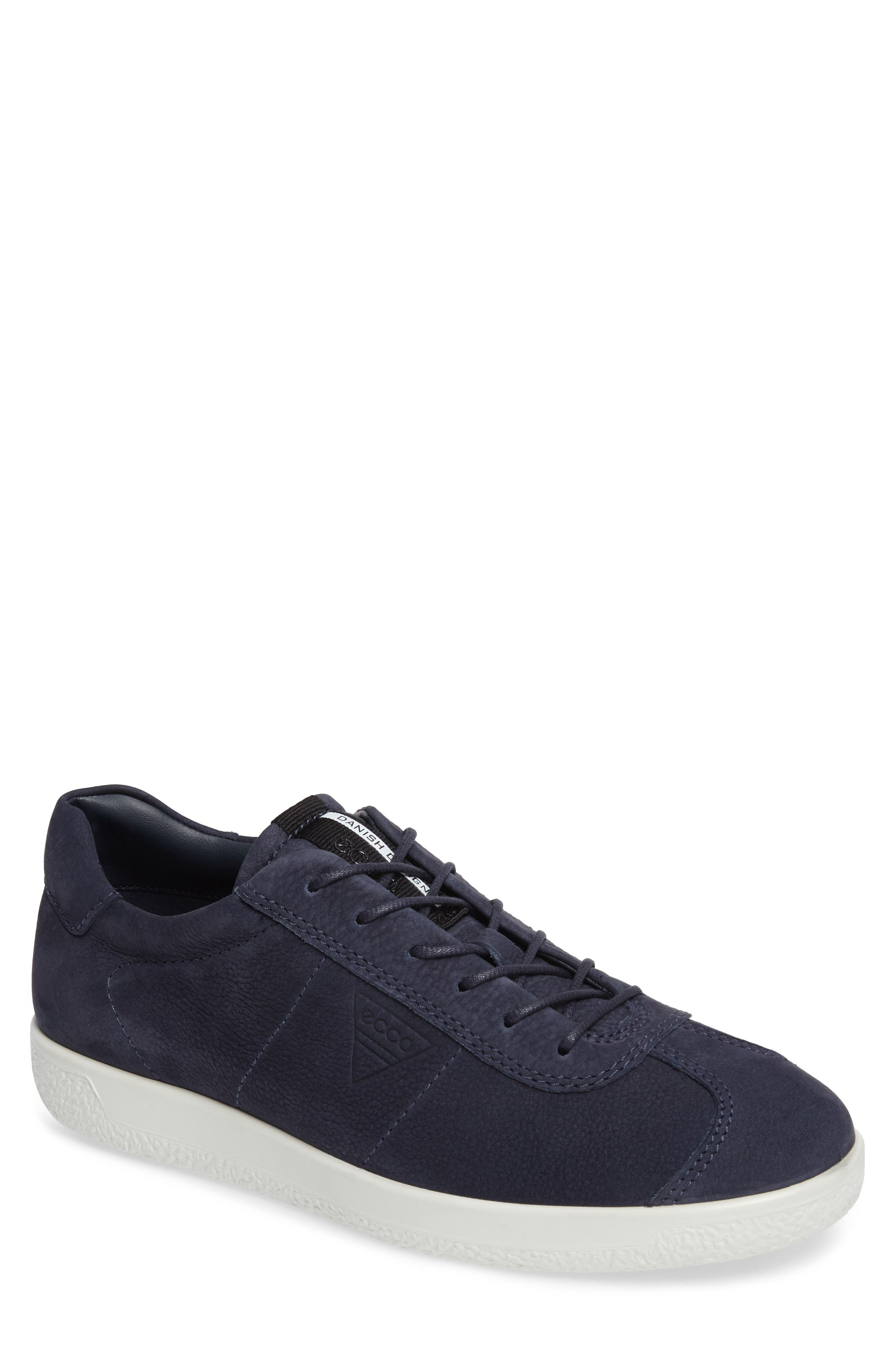 Alternate Image 1 Selected - ECCO Soft 1 Sneaker (Men)