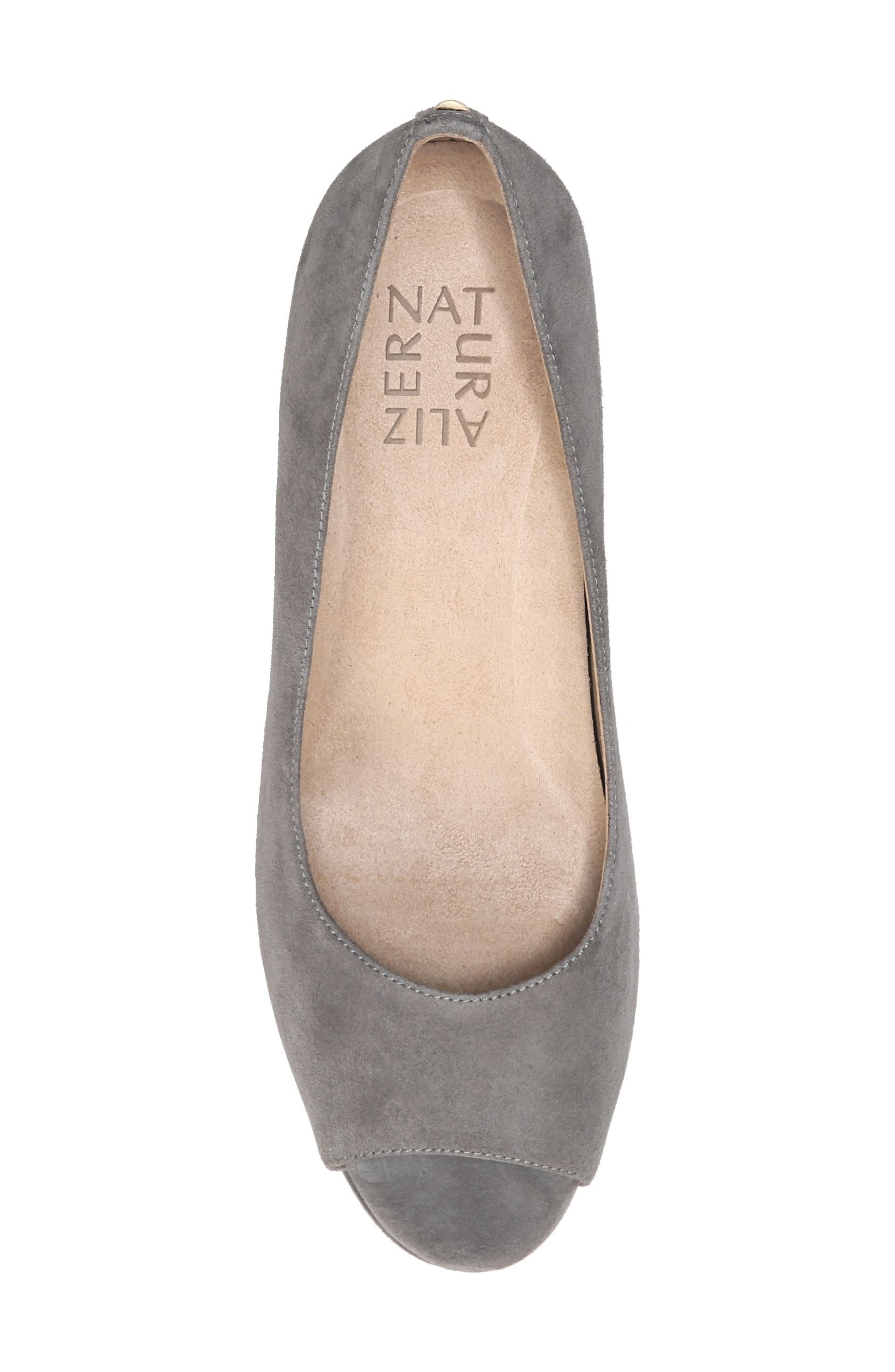 Alternate Image 5  - Naturalizer Olivia Peep Toe Wedge (Women)