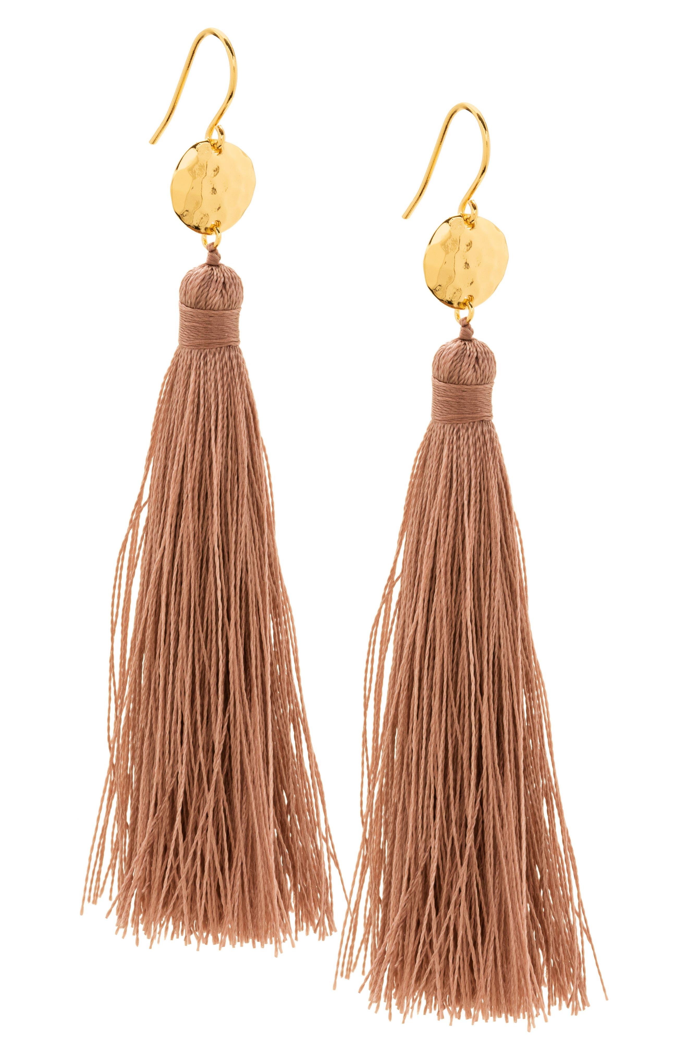 Alternate Image 2  - gorjana Leucadia Tassel Drop Earrings