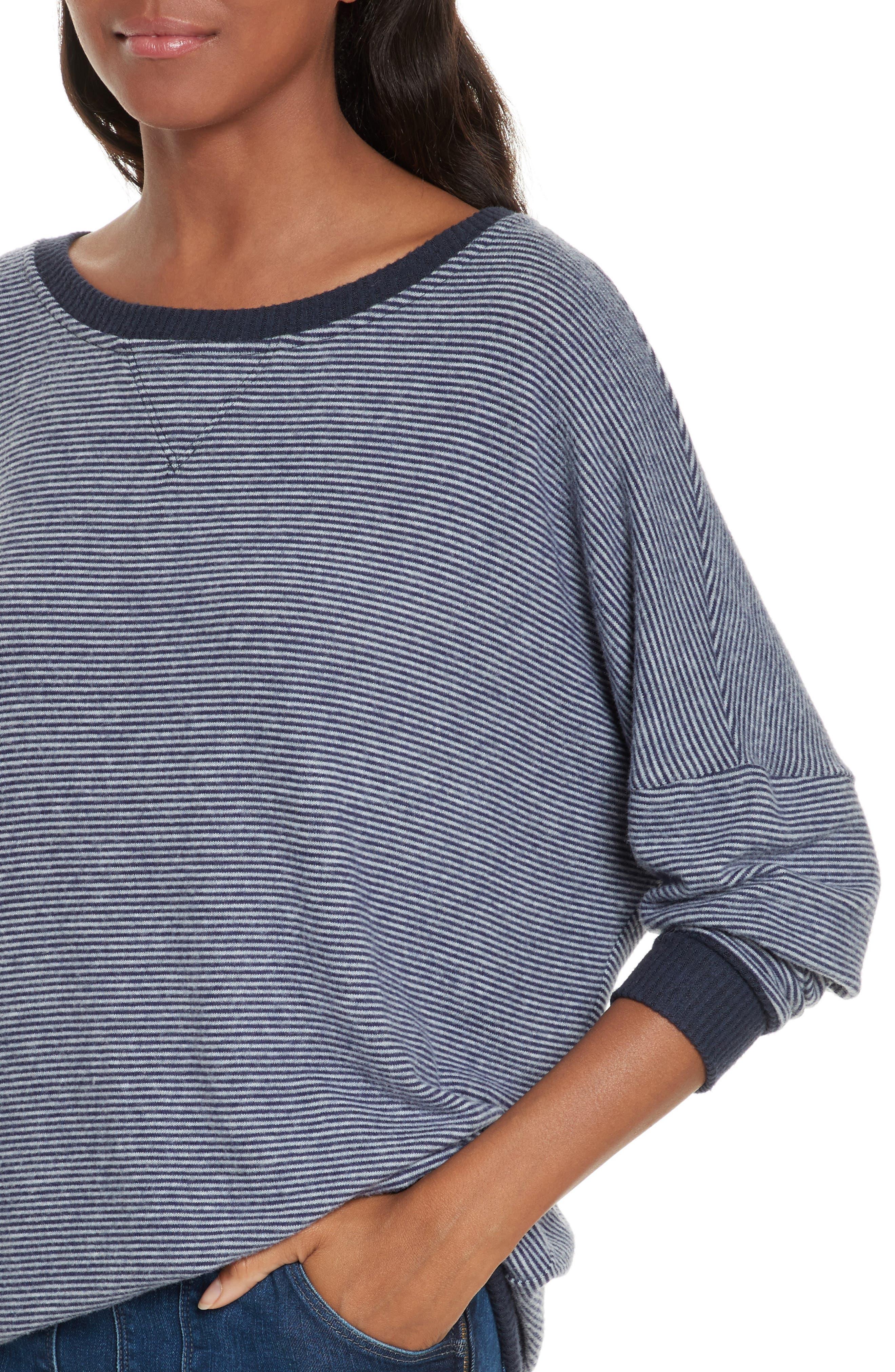 Alternate Image 4  - Joie Striped Sweatshirt