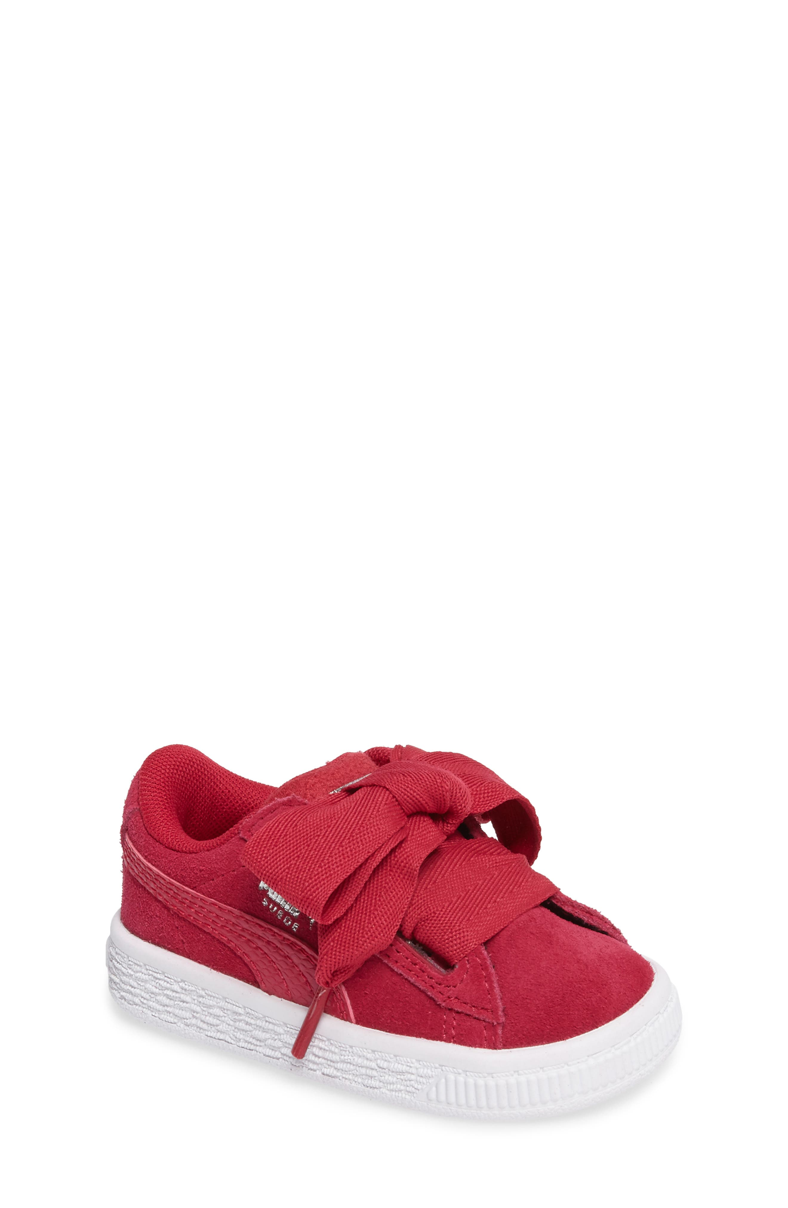 PUMA Heart Sneaker (Baby, Walker & Toddler)