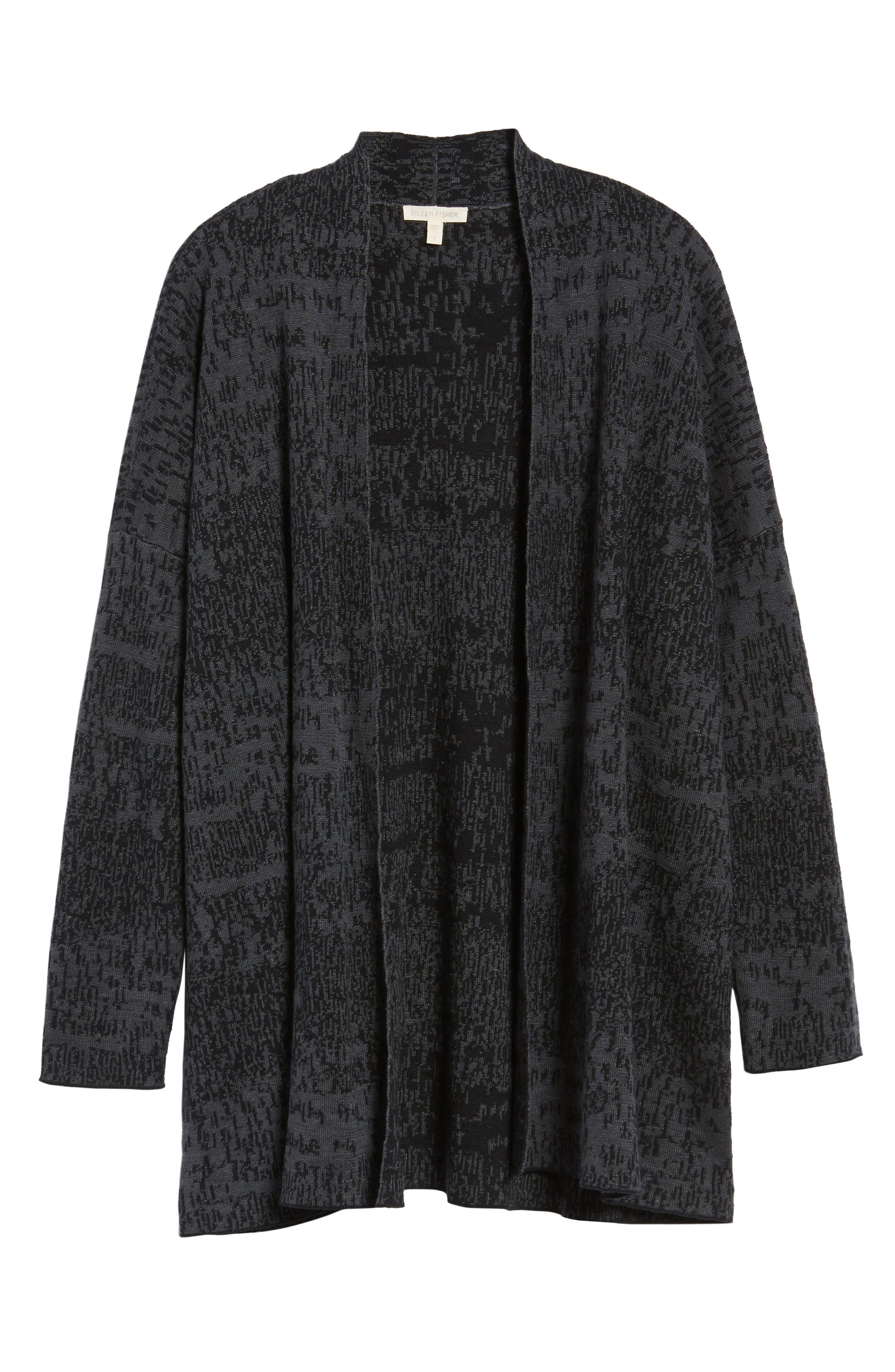 Alternate Image 6  - Eileen Fisher Organic Linen & Cotton Cardigan